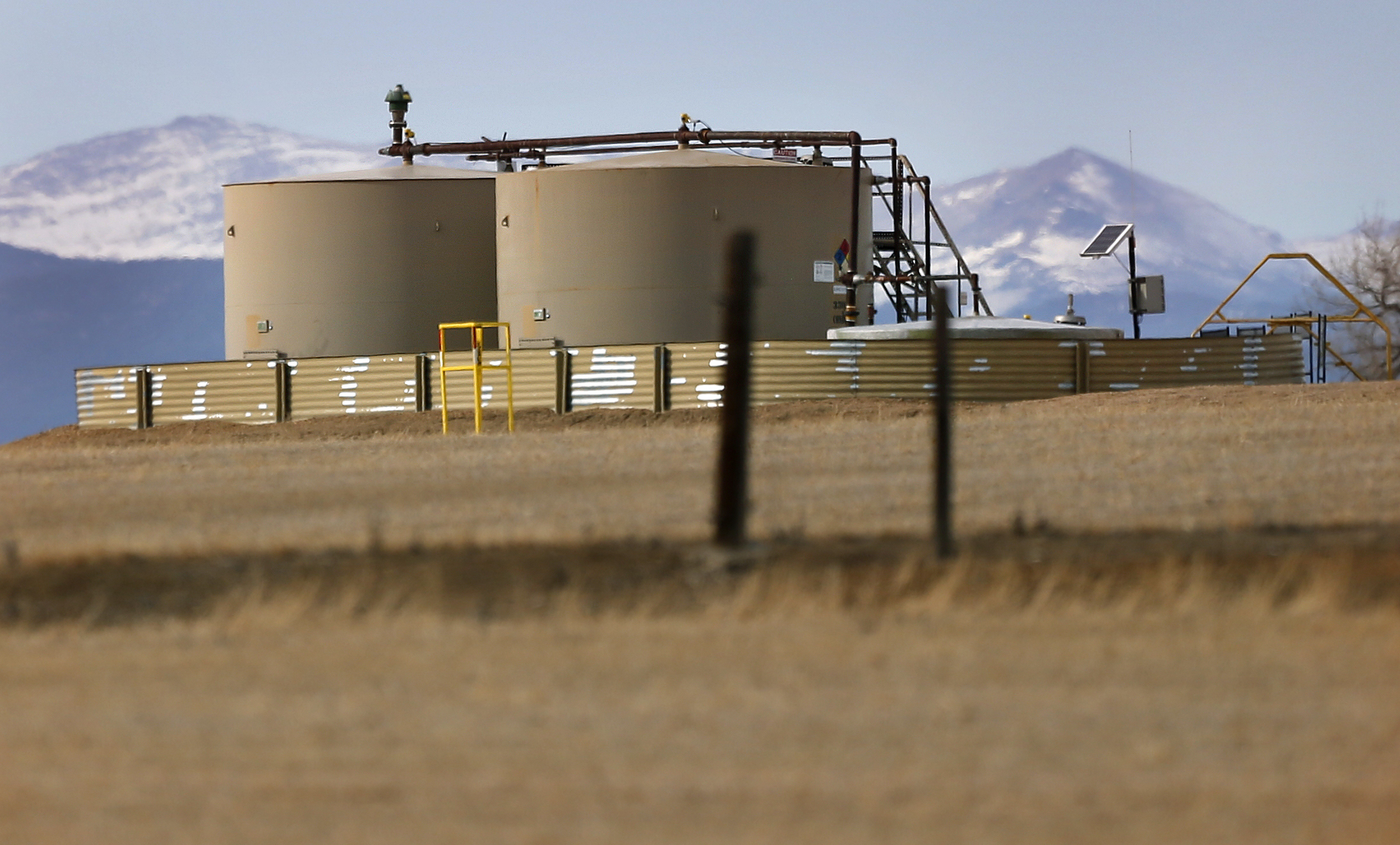 Photo: Weld County Petroleum Tanks