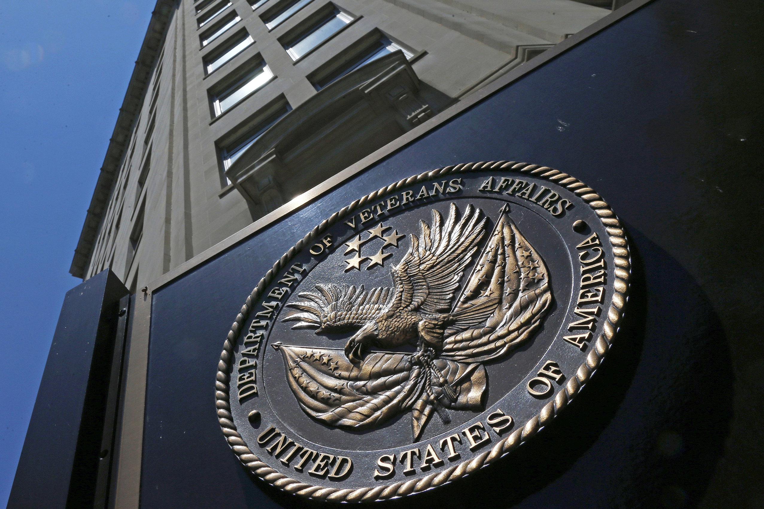 Photo: Department of Veterans Affairs in Washington D.C. (AP)