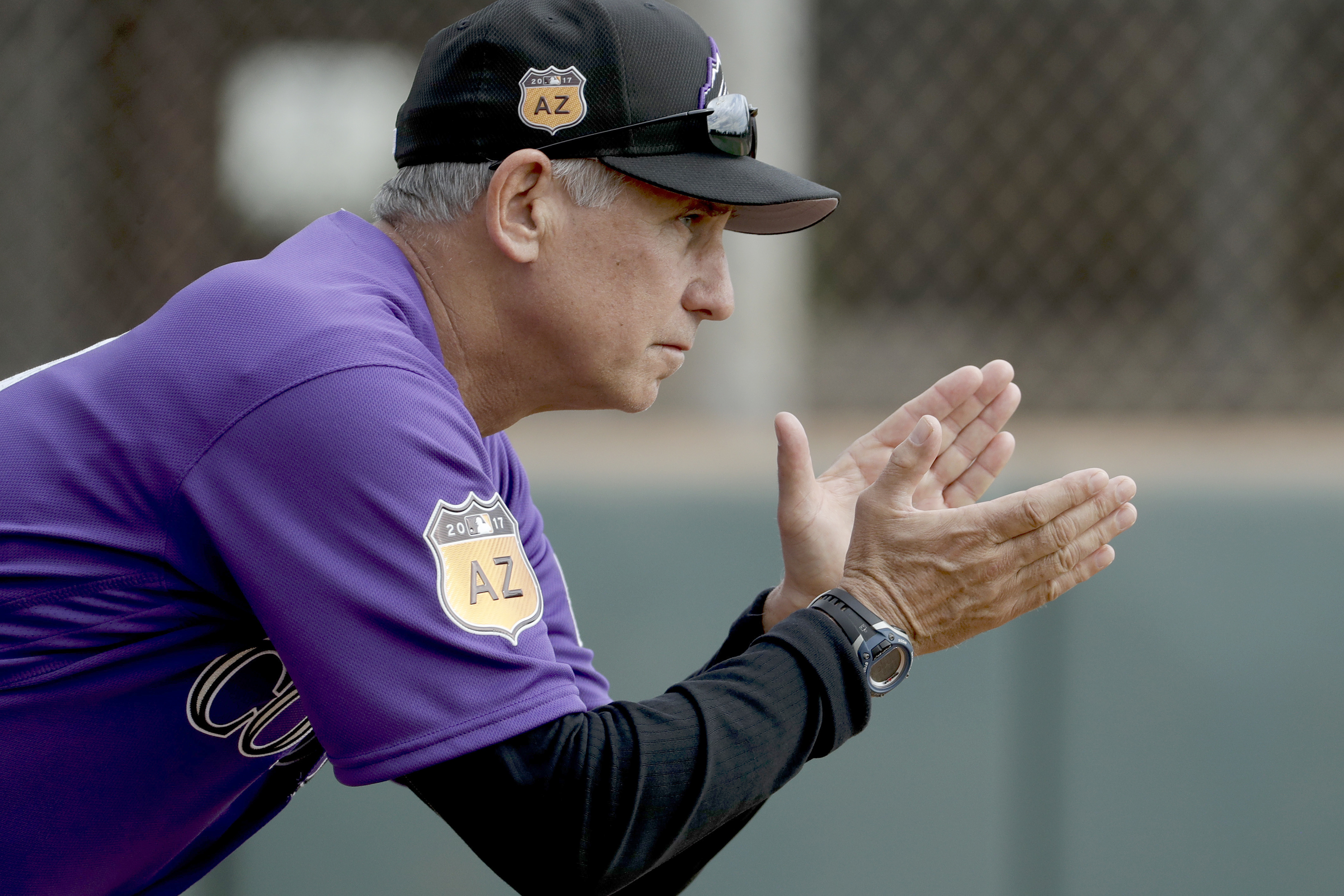 Photo: Rockies Manager Bud Black