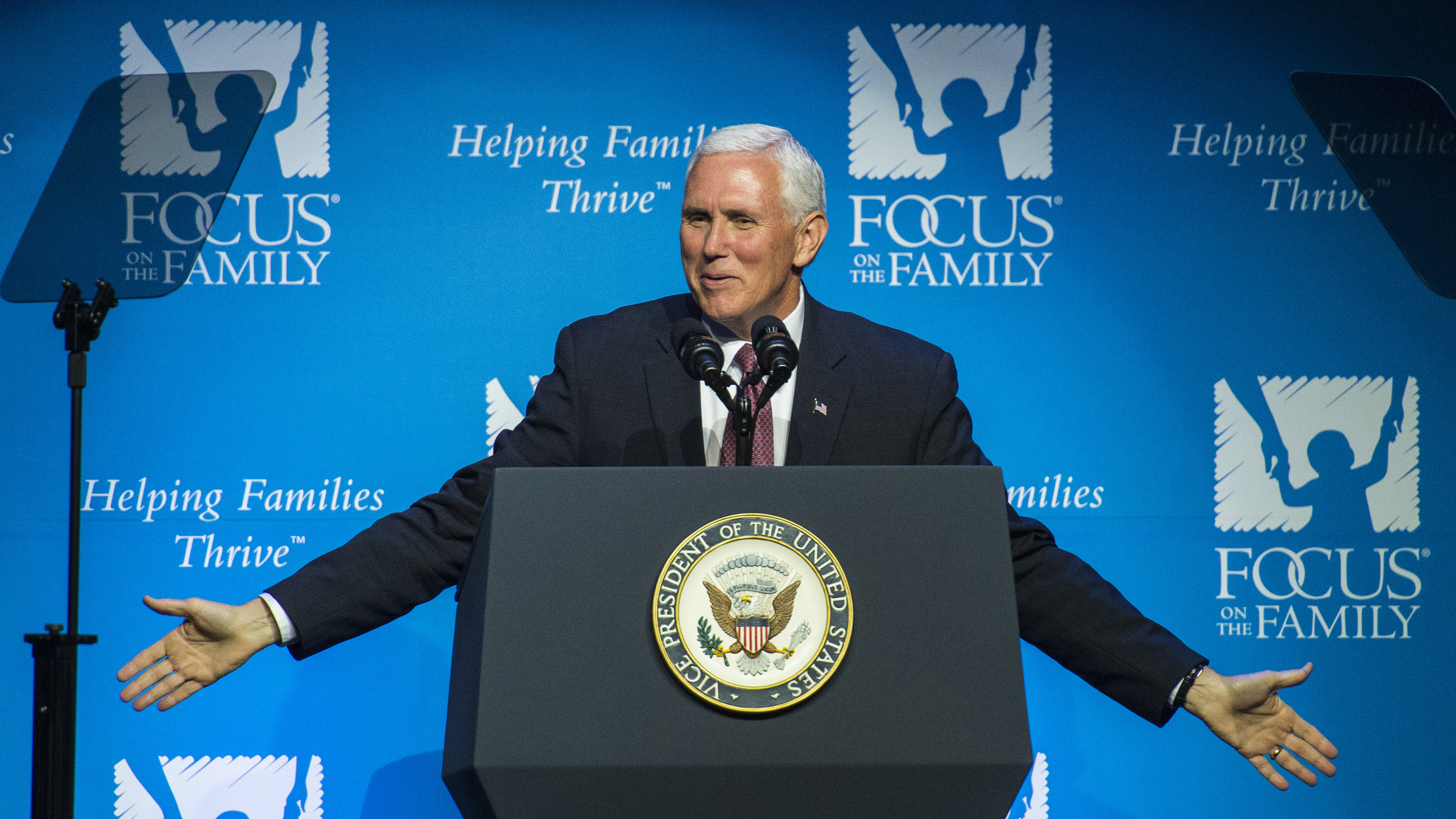 Photo: Mike Pence Focus On The Family (AP)