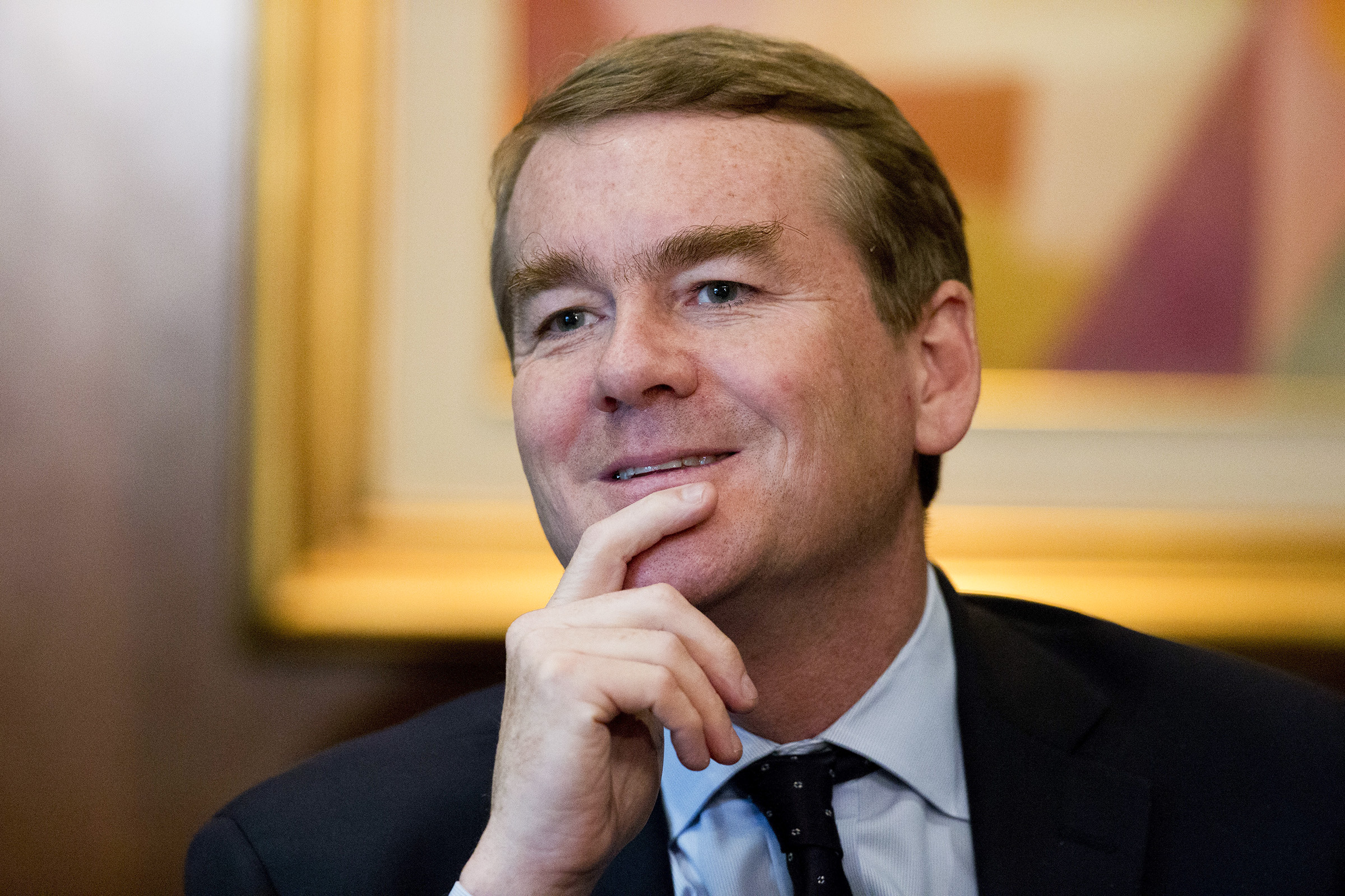 Photo: Sen. Michael Bennet July 2017 | AP