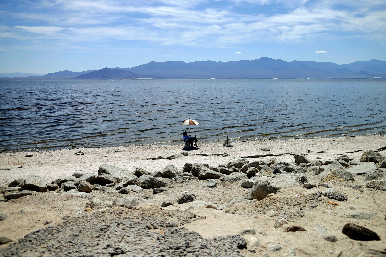 Photo: Colorado River Drought | Salton Sea Calif. - AP