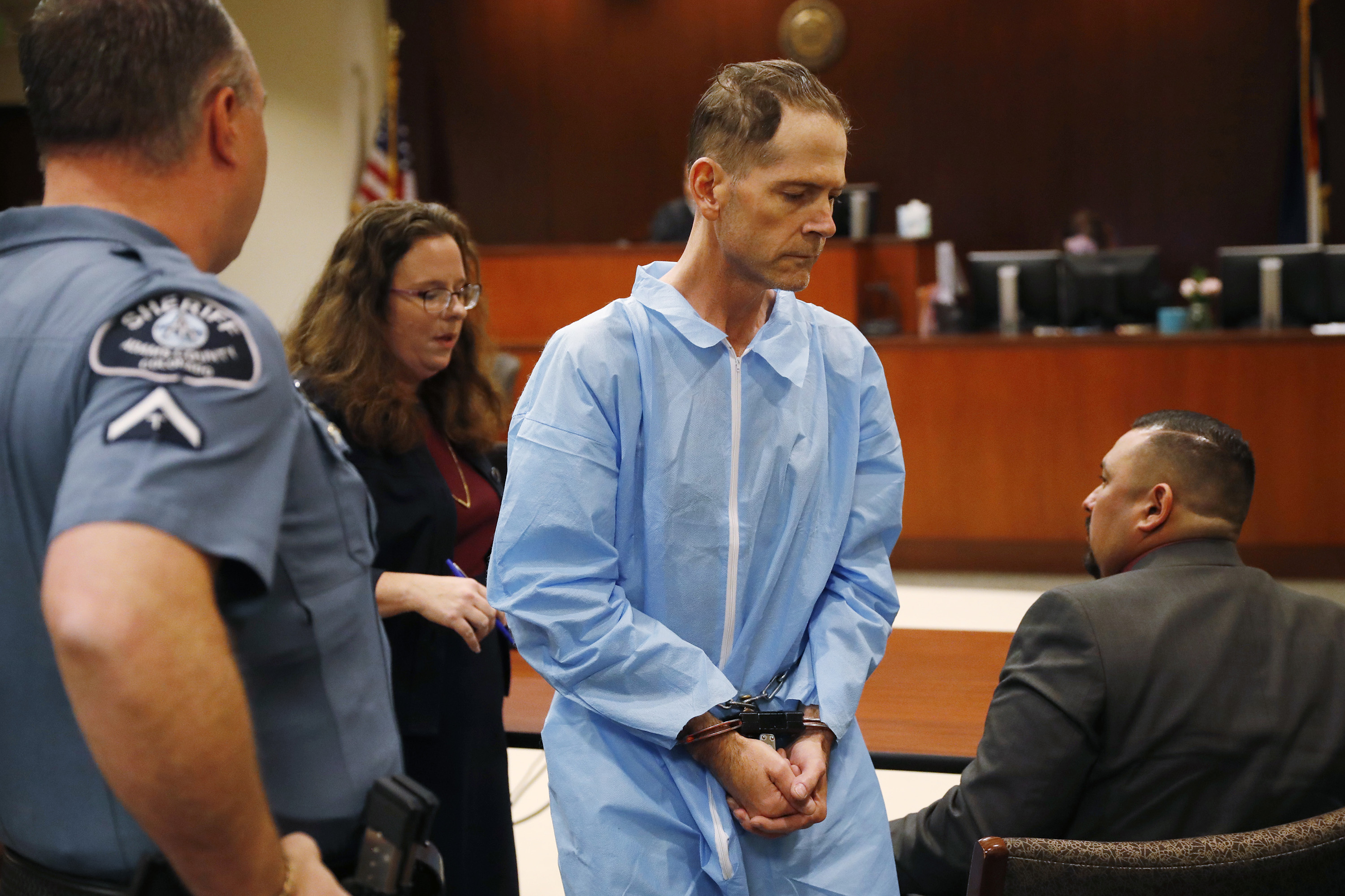 Photo: Scott Ostrem Suspected Walmart Shooter Court Appearance