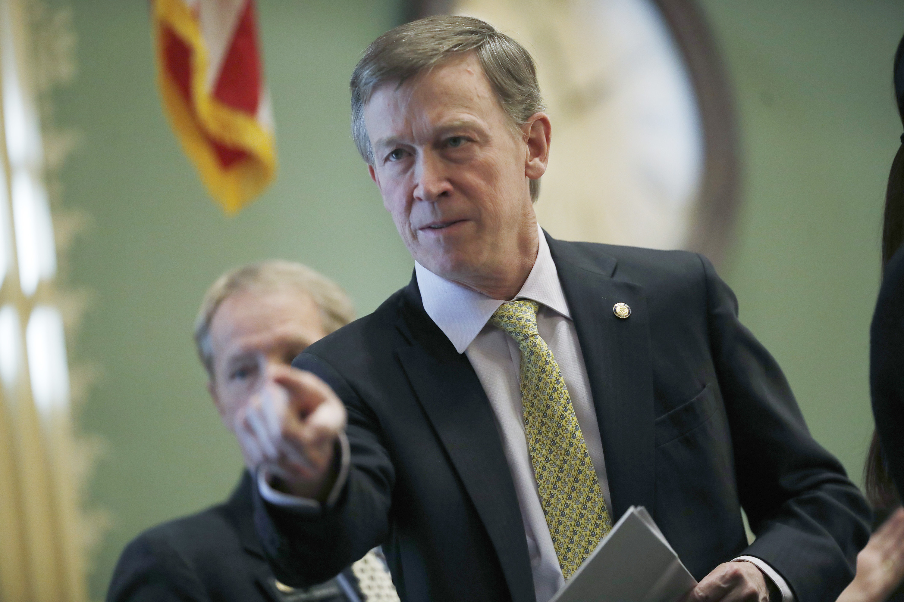 Photo: Hickenlooper, StateOf The State 2018