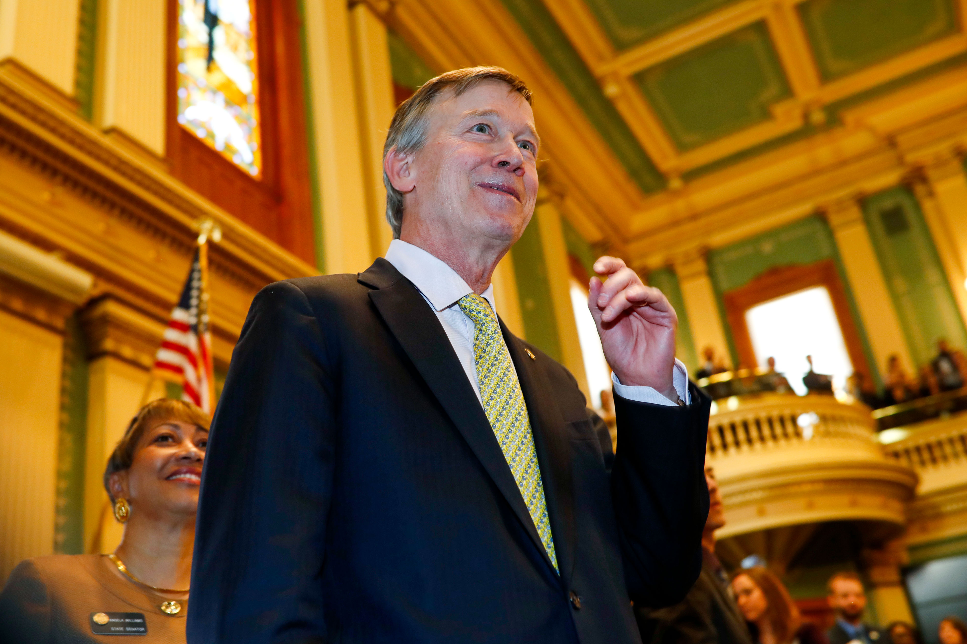 Photo: Colorado State Of The State 2018 - AP