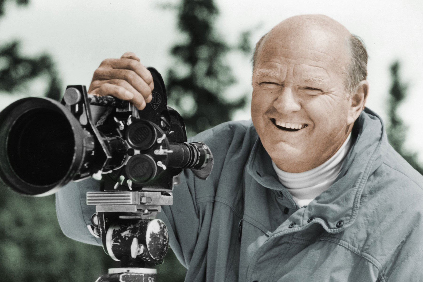 Photo: Warren Miller Obit - AP