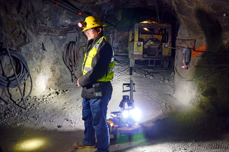 Photo: Mine Waste Spill Robots | Edgar Miner - AP