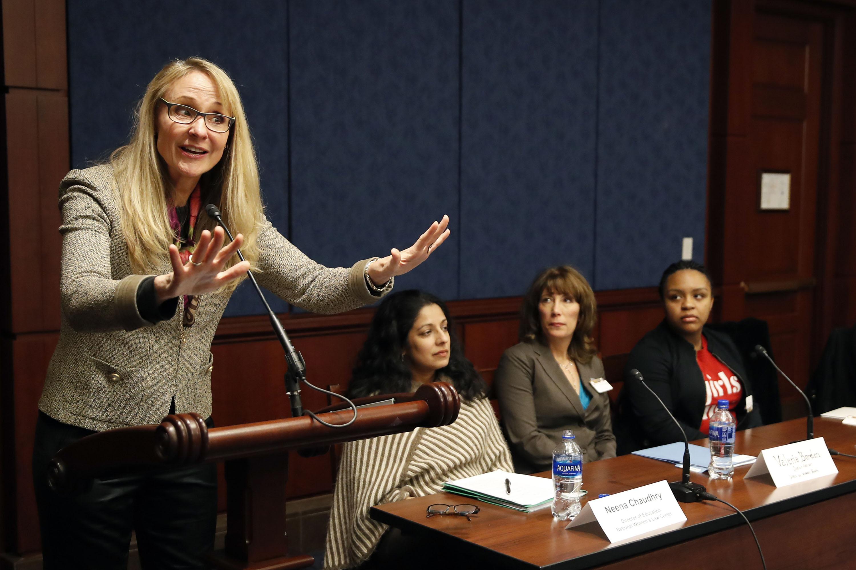 Photo: Nancy Hogshead-Makar (AP)