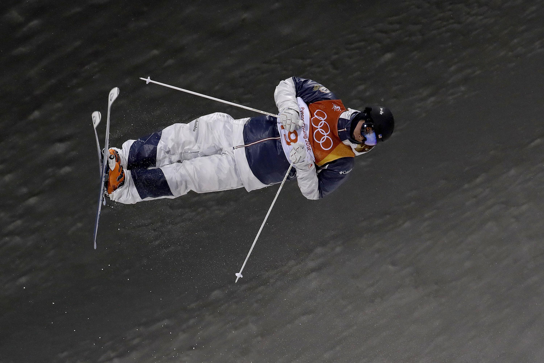 Photo: Casey Andringa Snowboard 2018 Winter Olympics (AP)