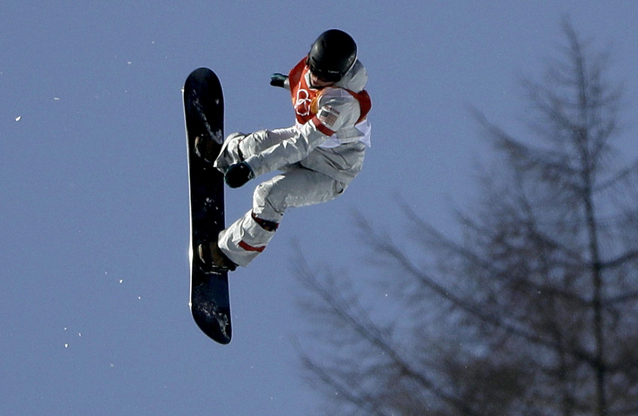 Photo: Arielle Gold Snowboard 2018 Winter Olympics (AP)