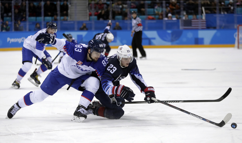 Photo: Troy Terry Hockey 2018 Winter Olympics (AP)