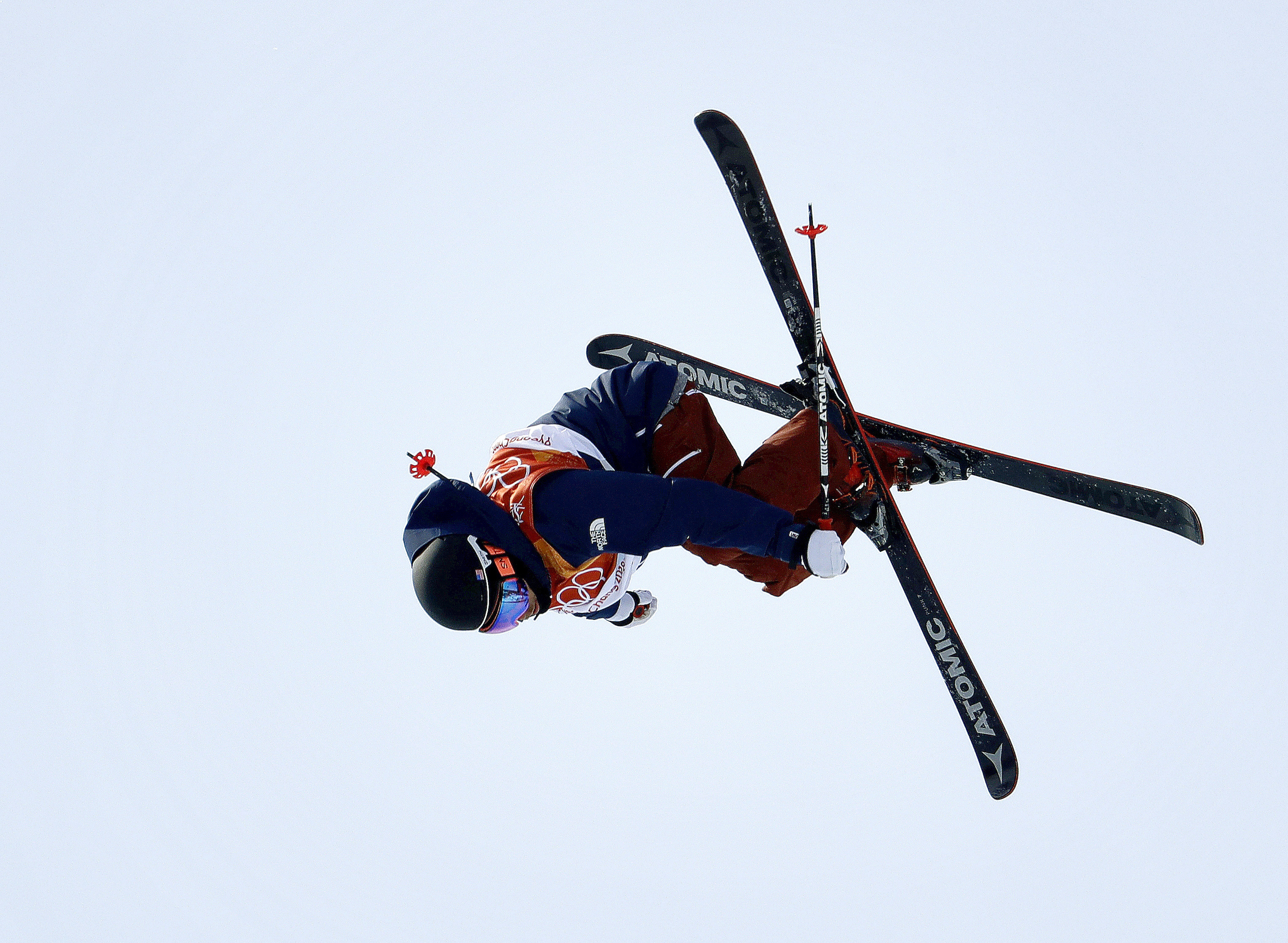 Photo: Gus Kenworthy 2018 Winter Olympics (AP)