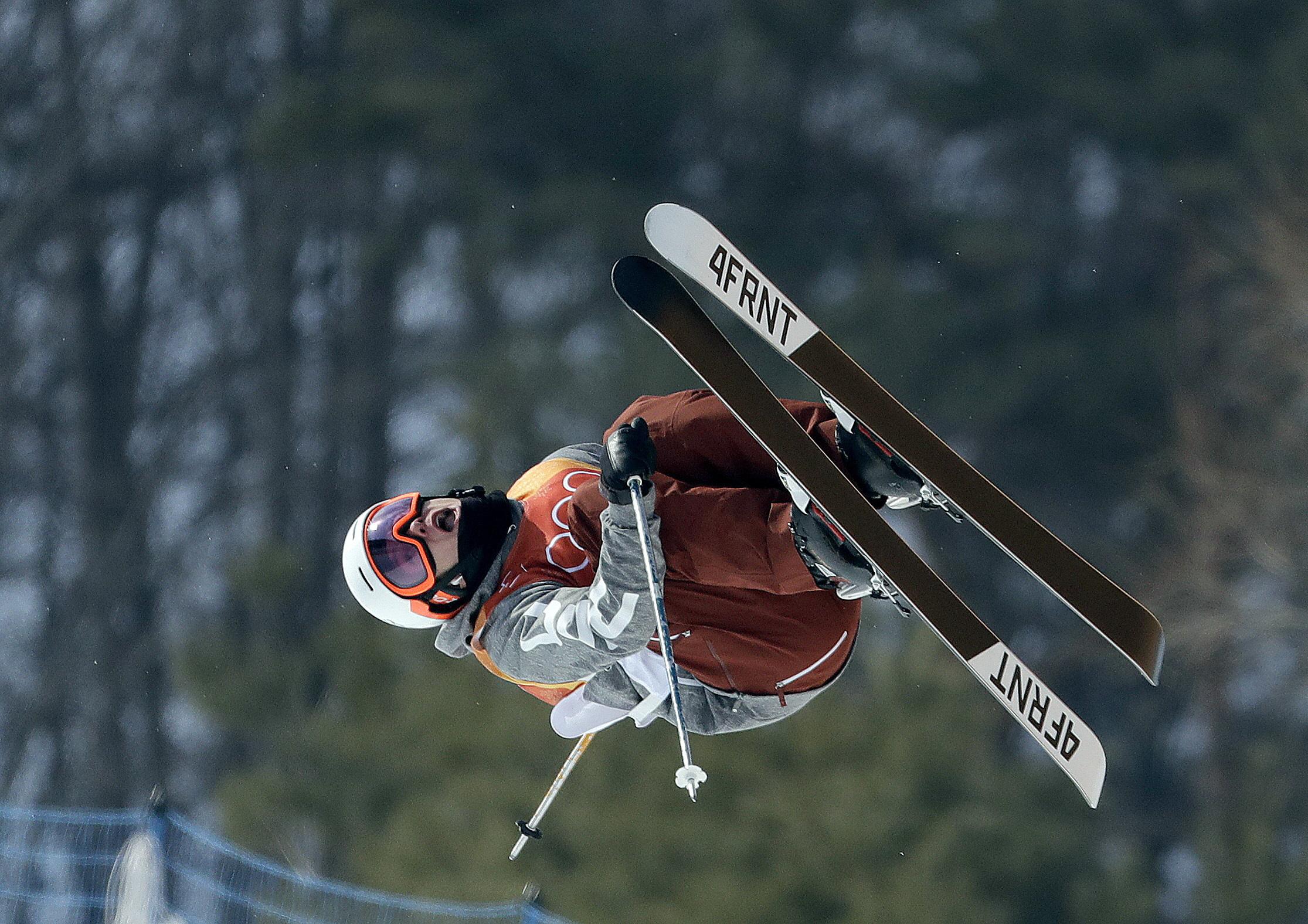 Photo:Alex Ferreira Halfpipe 2018 Winter Olympics (AP)