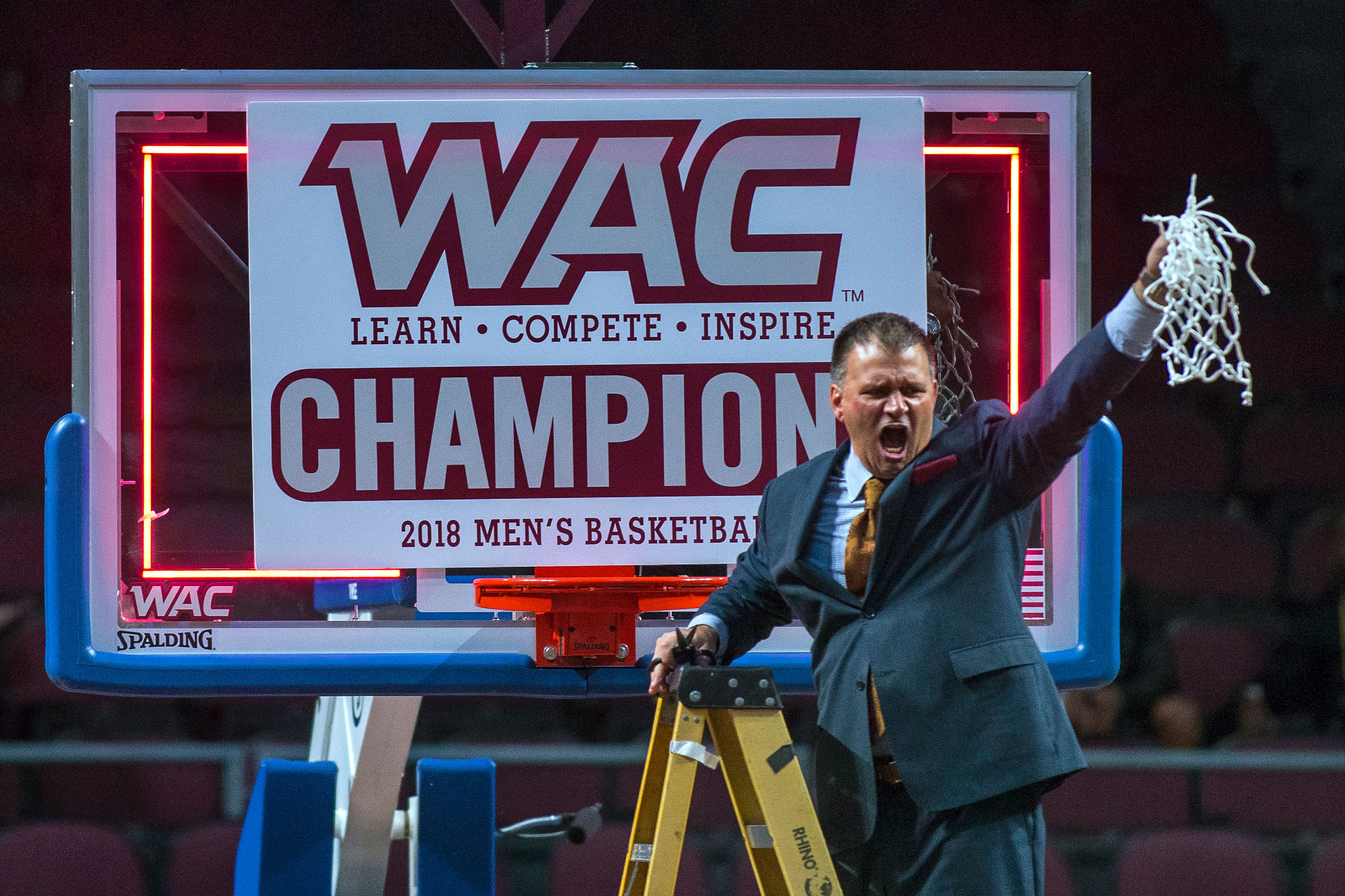 Photo: New Mexico State Athletics | WAC Mens Basketball Champion - AP