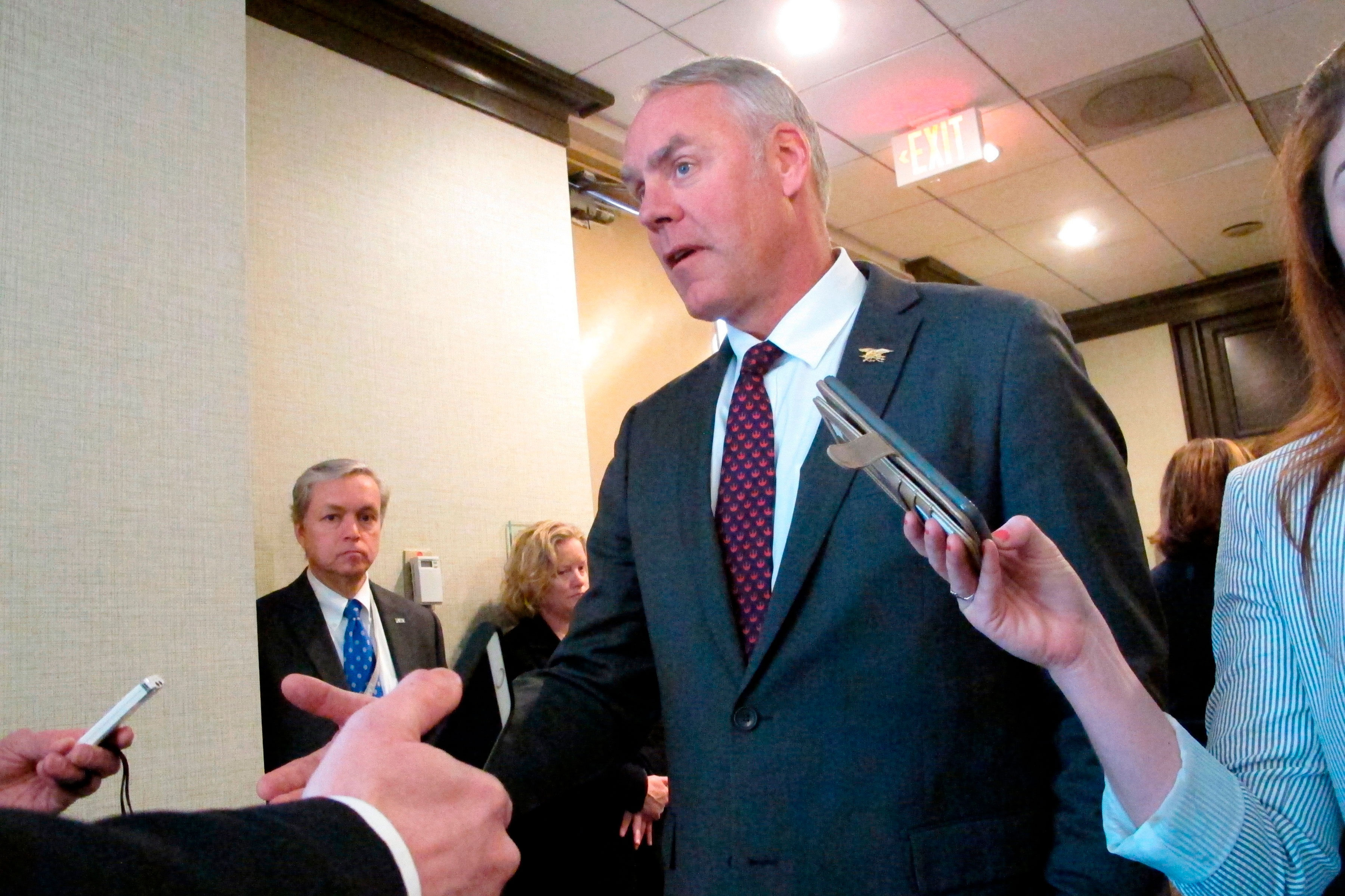 Photo: Interior Sec Ryan Zinke - AP