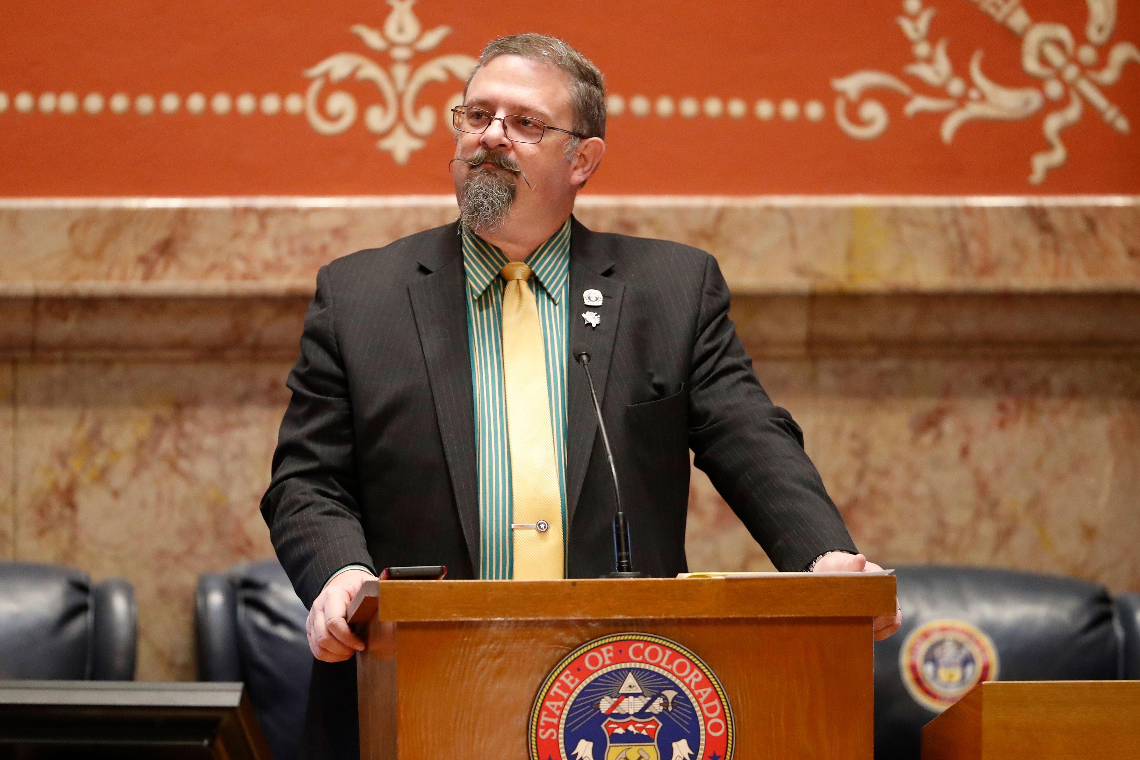 Photo: 2018 Colorado Legislature Ends 3 - AP