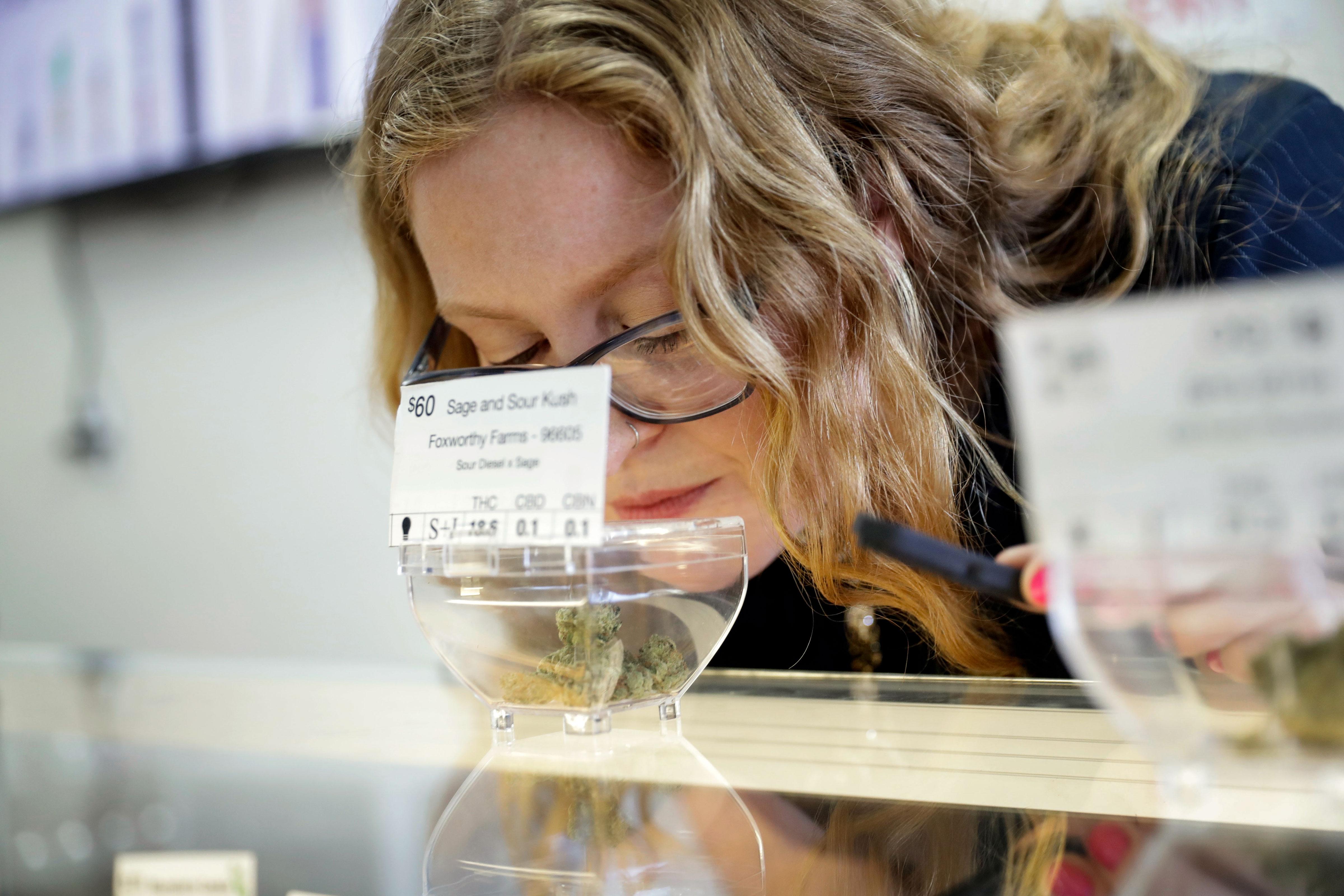 Photo: Women In Marijuana 2 | Shumacher Marijuana Smelling - AP