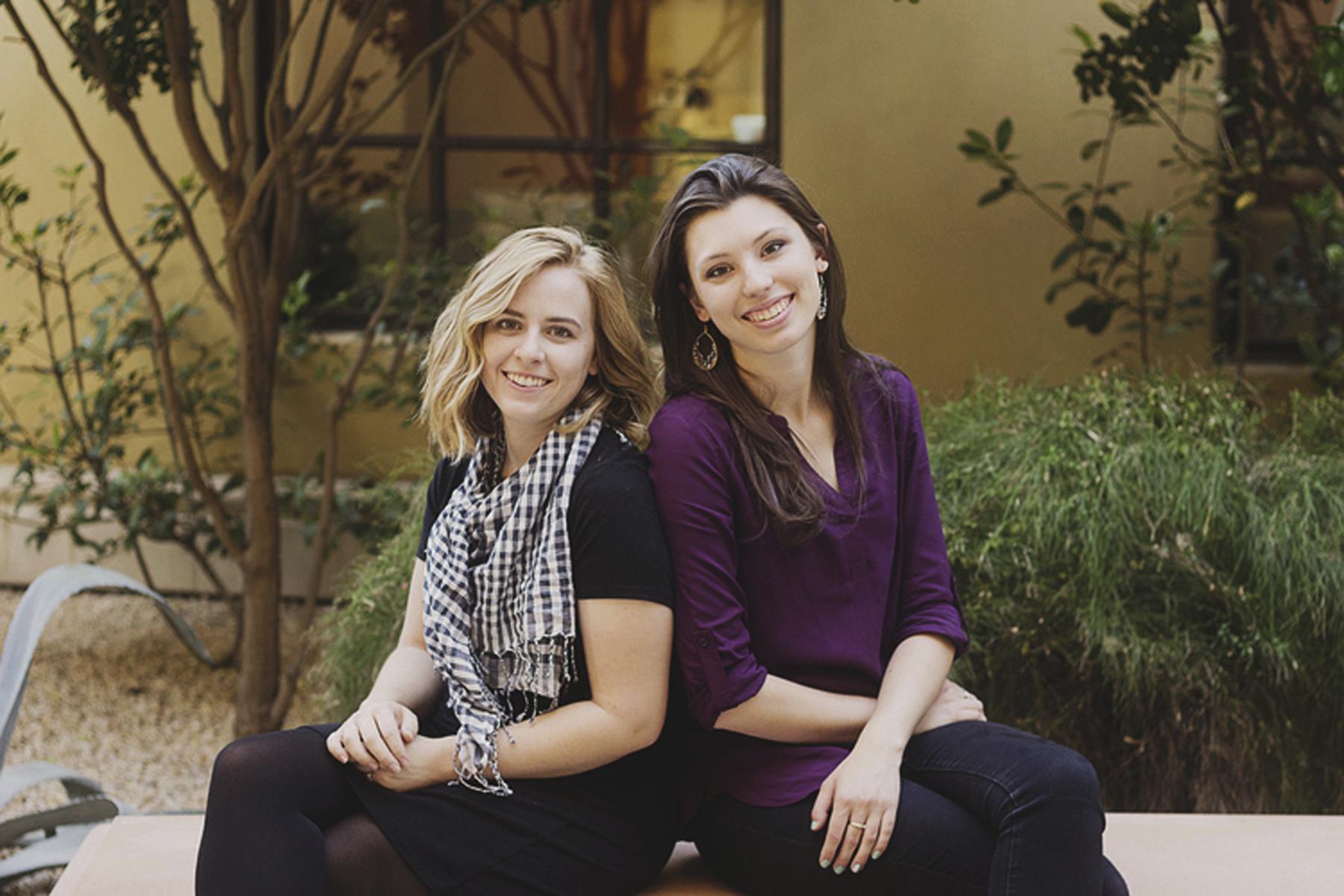 Photo: Joanna Duka, right, and Breanna Koski Arizona Discrimination