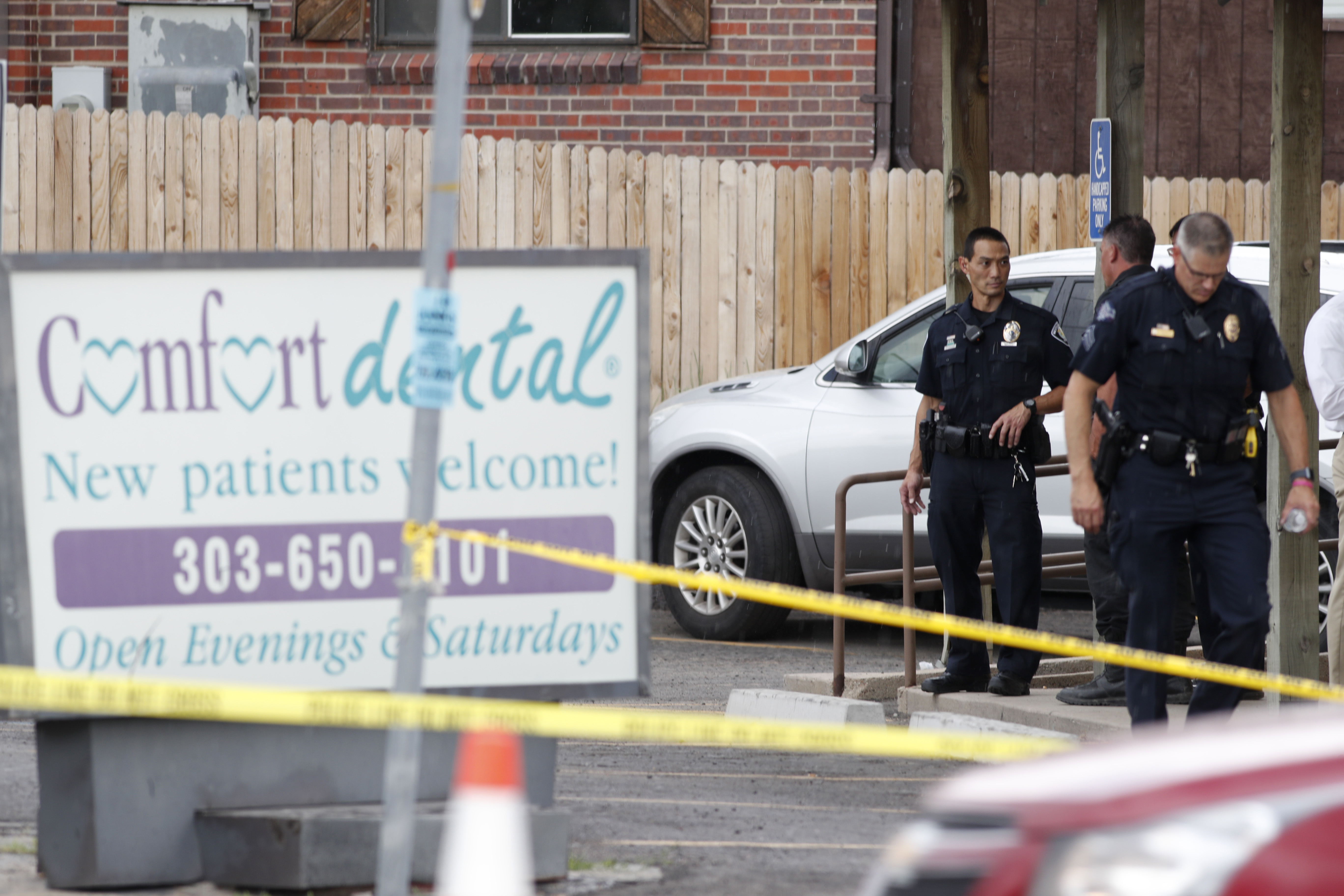 Photo: Westminster Dentist Road Rage Shooting - AP Photo