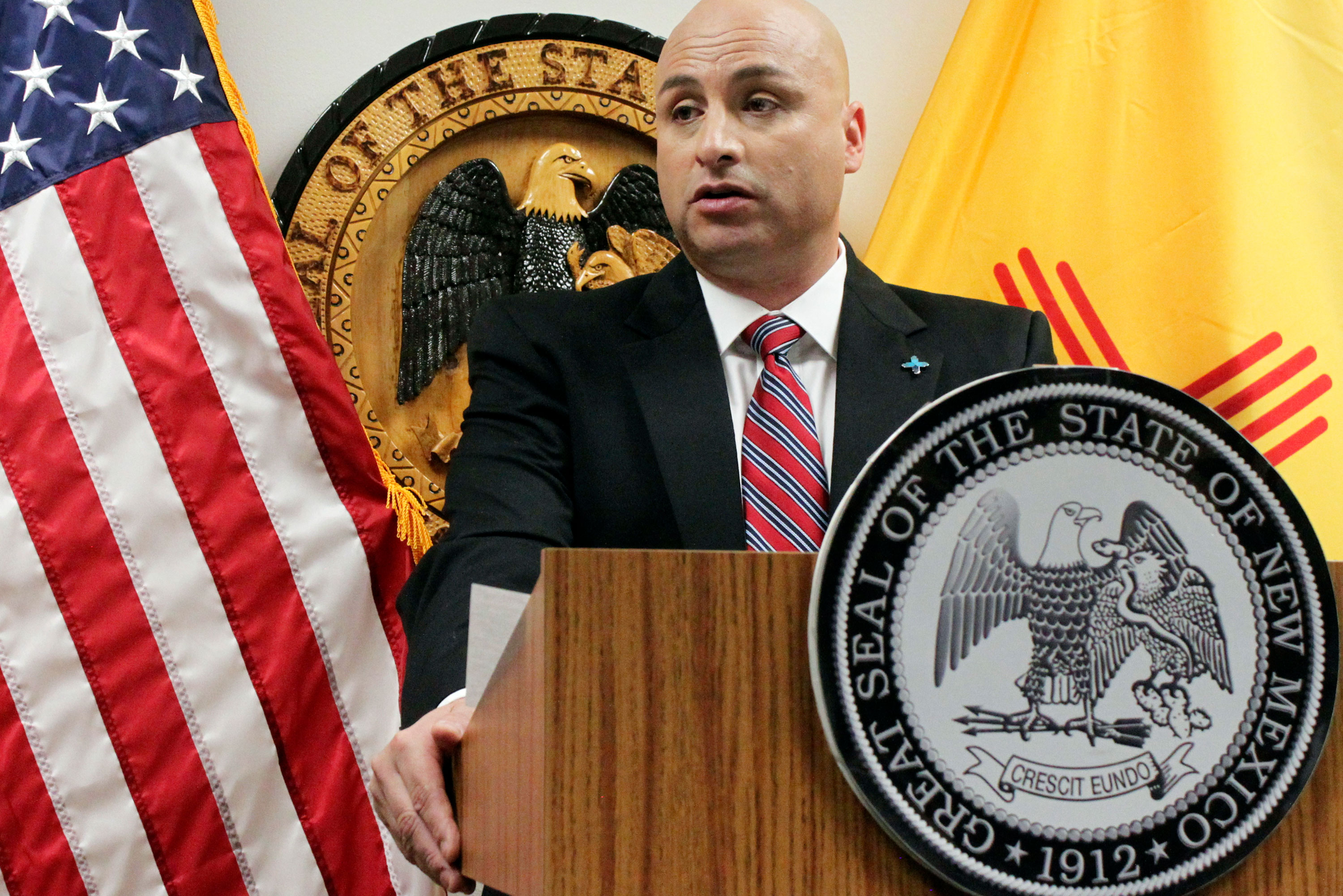 Photo: Treaty Hispanic Land Grants | New Mexico AG Balderas - AP