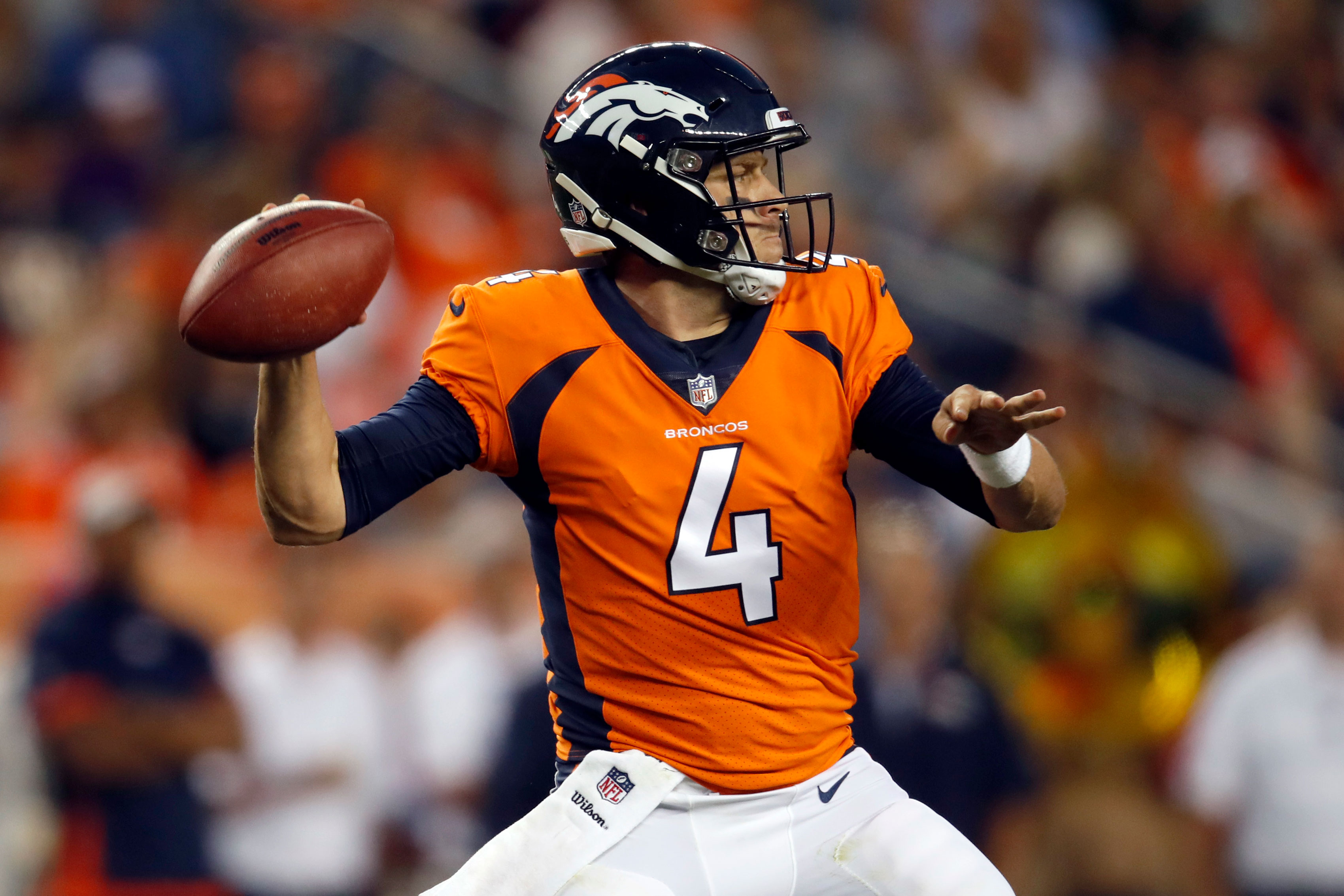 best sneakers c9ca6 eff29 Now That Flacco Is Man For The Broncos, Case Keenum Is ...
