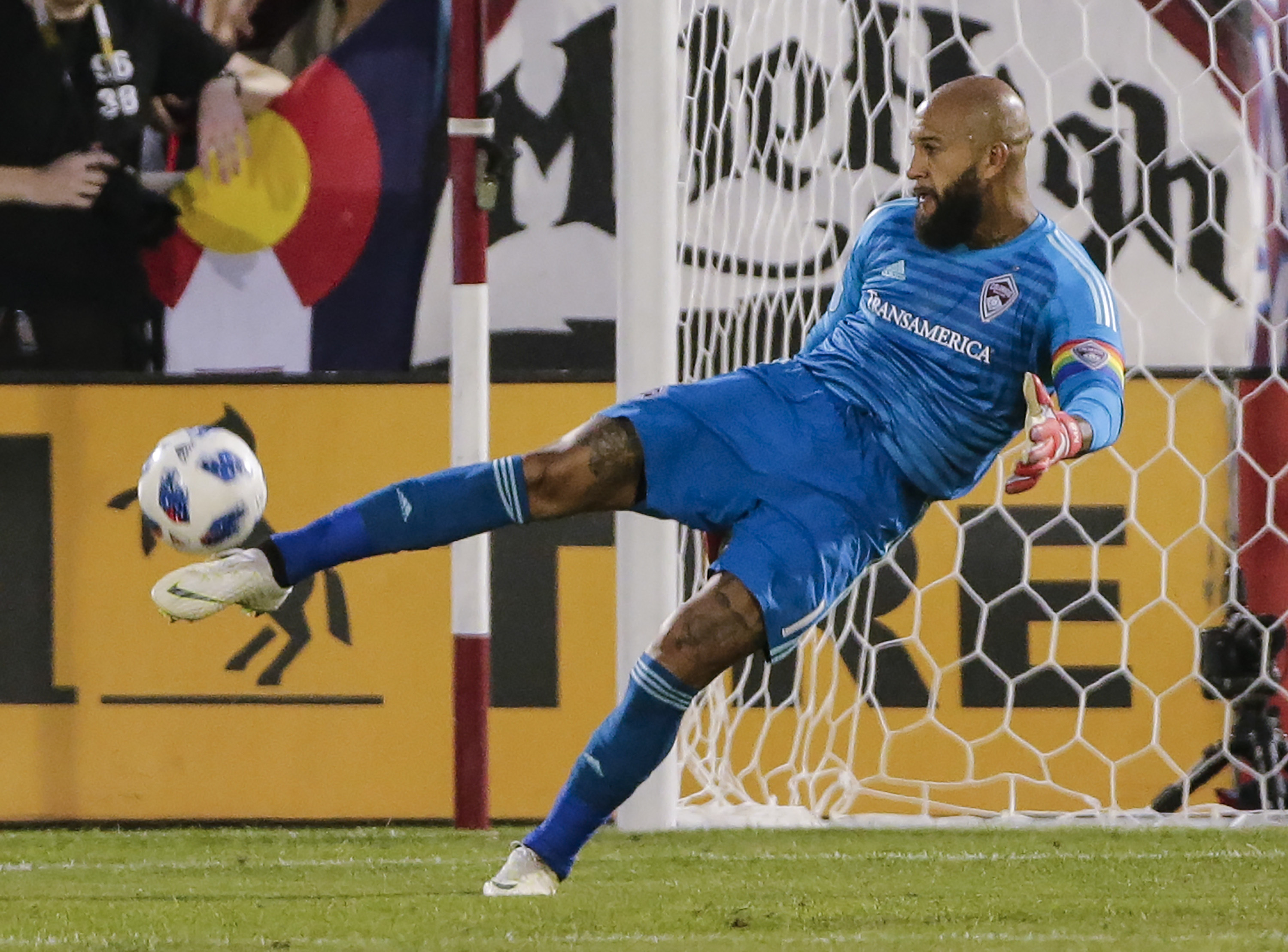 Photo: Tim Howard Colorado Rapids Soccer