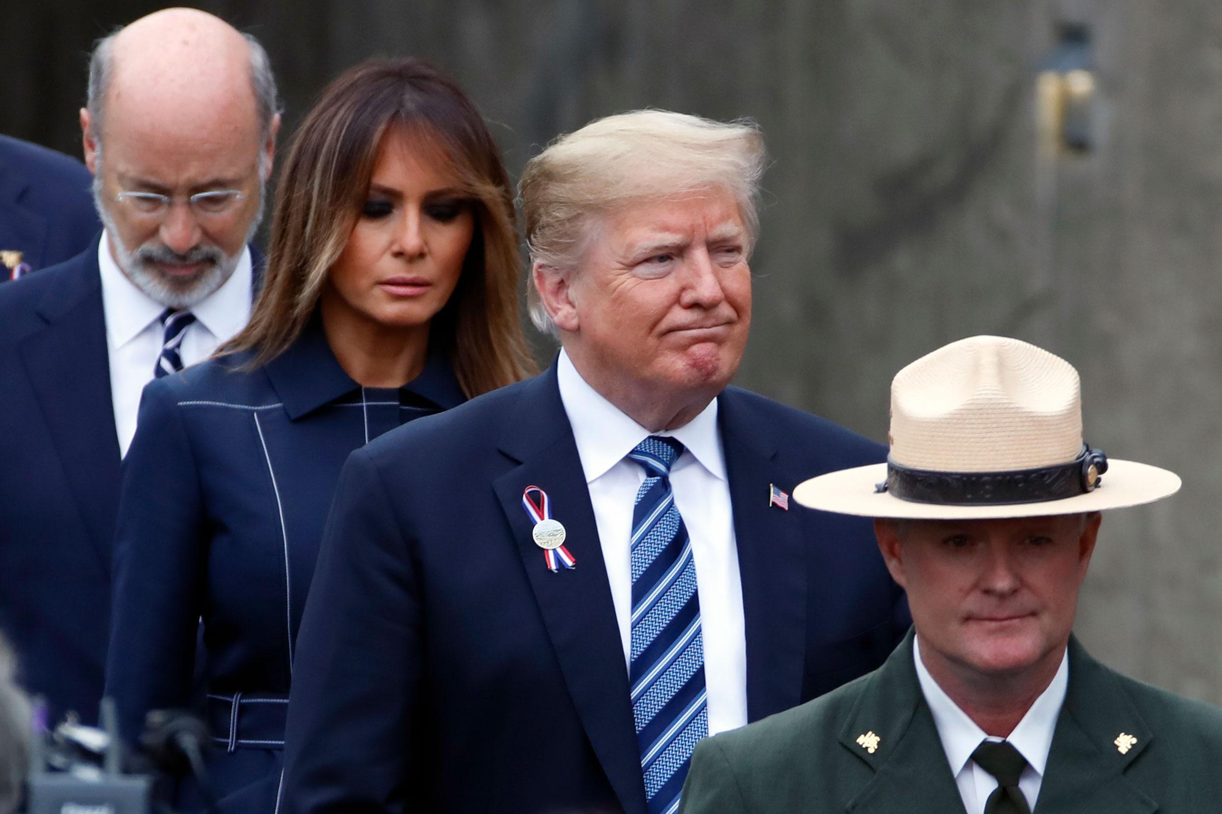 Photo: 9/11 Anniversary | Trump PA Visit - AP