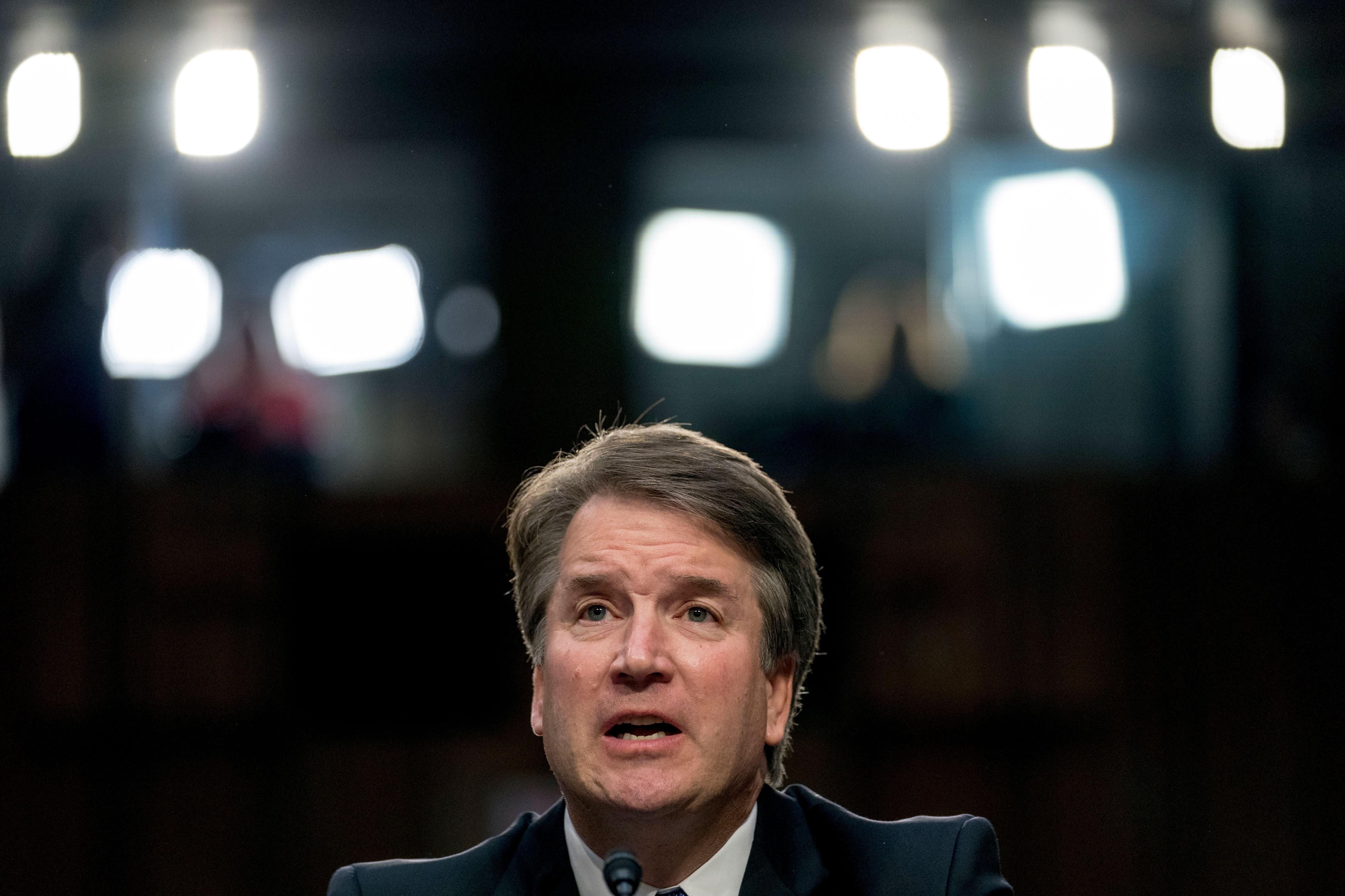 Photo: Kavanaugh Senate Confirmation Hearings 4 | Kavanaugh Speaks - AP