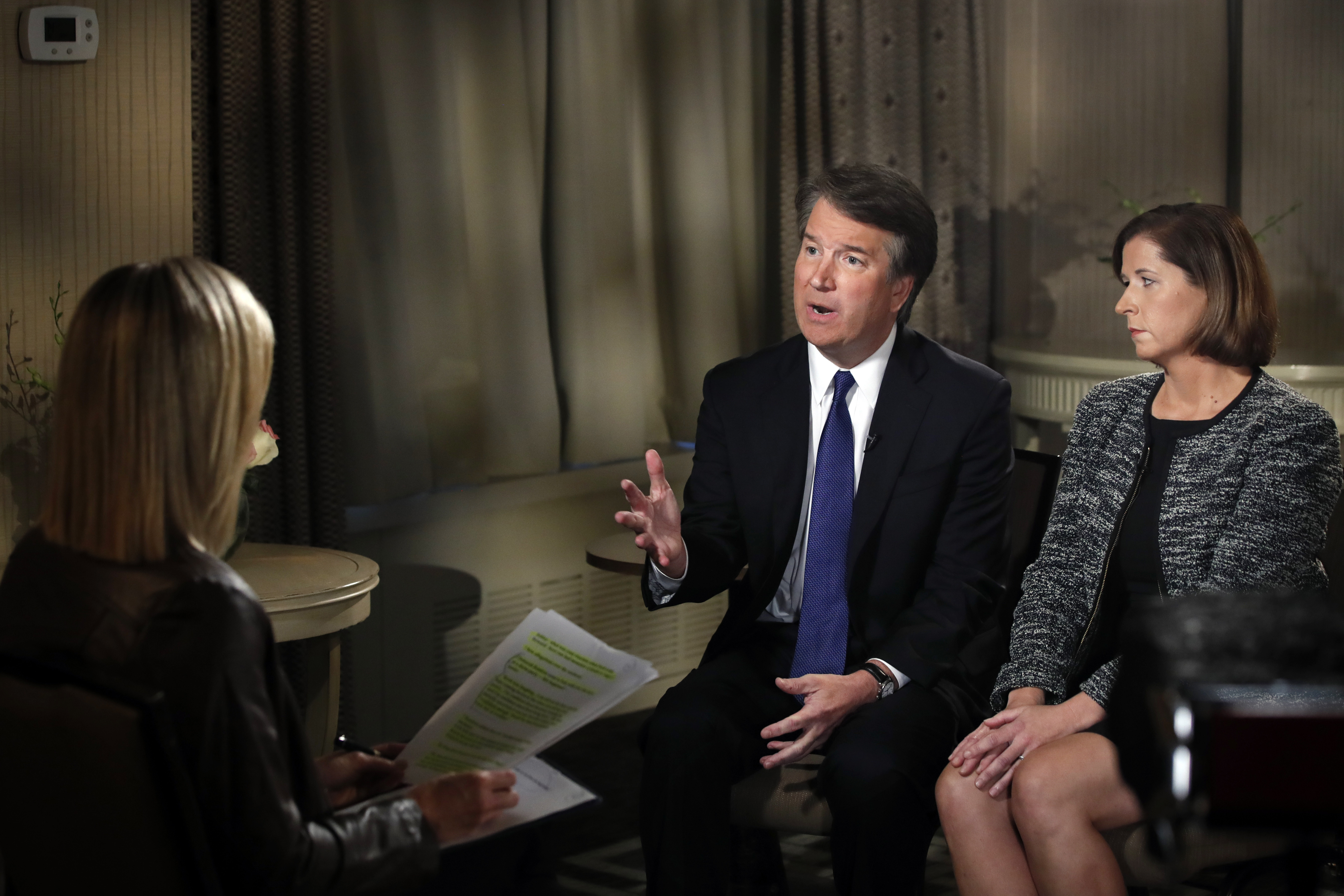 Photo: Brett Kavanaugh Fox News Assault Interview