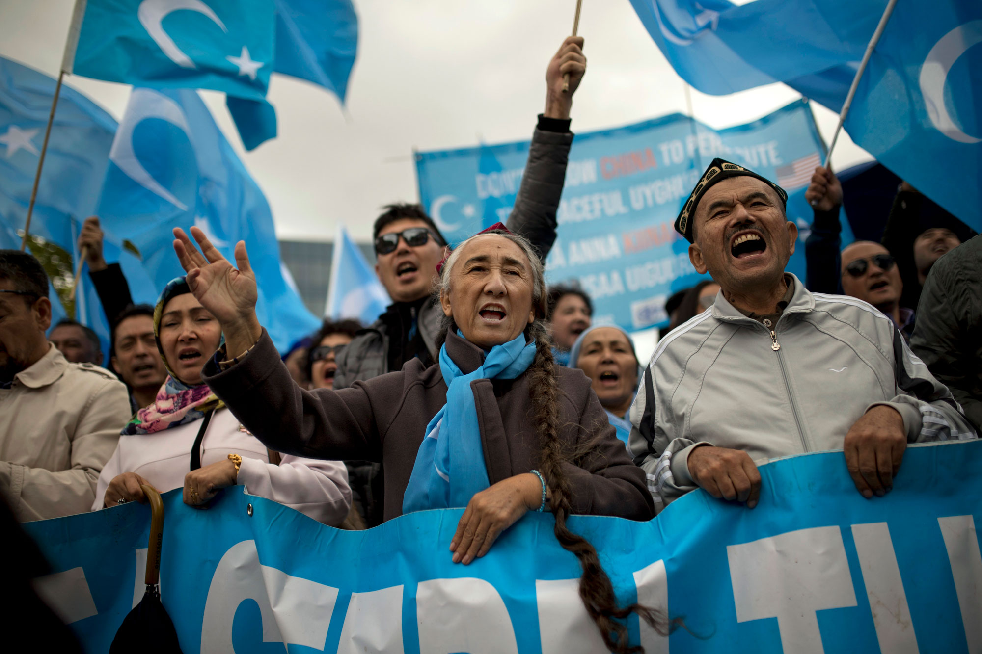Photo: Uyghur Protest