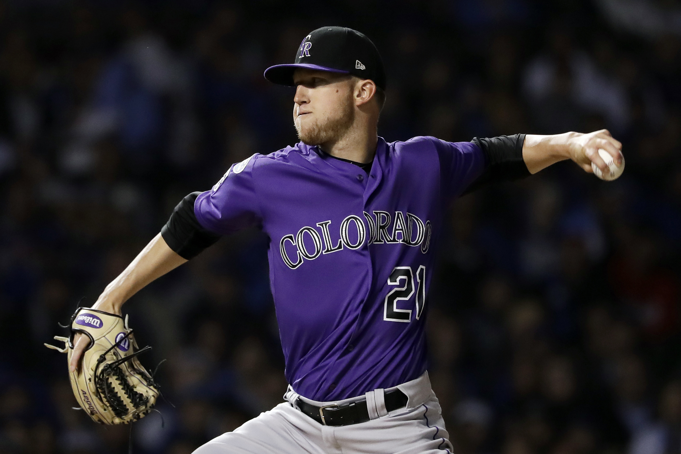 Photo: Rockies Pitcher Kyle Freeland Against Cubs