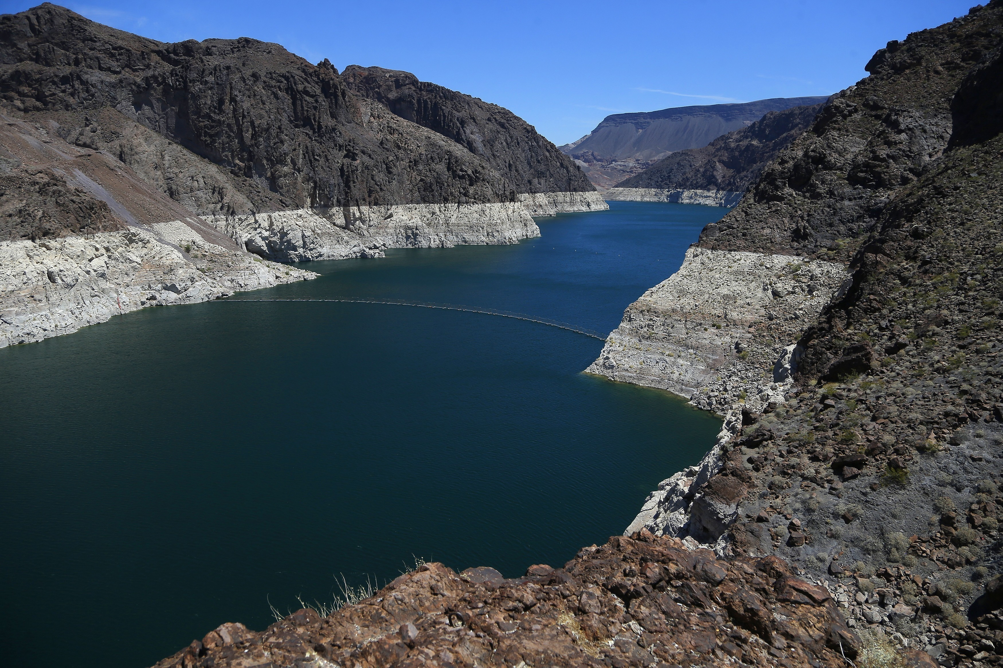 Photo: Colorado River May 2018 At Hoover Dam - AP