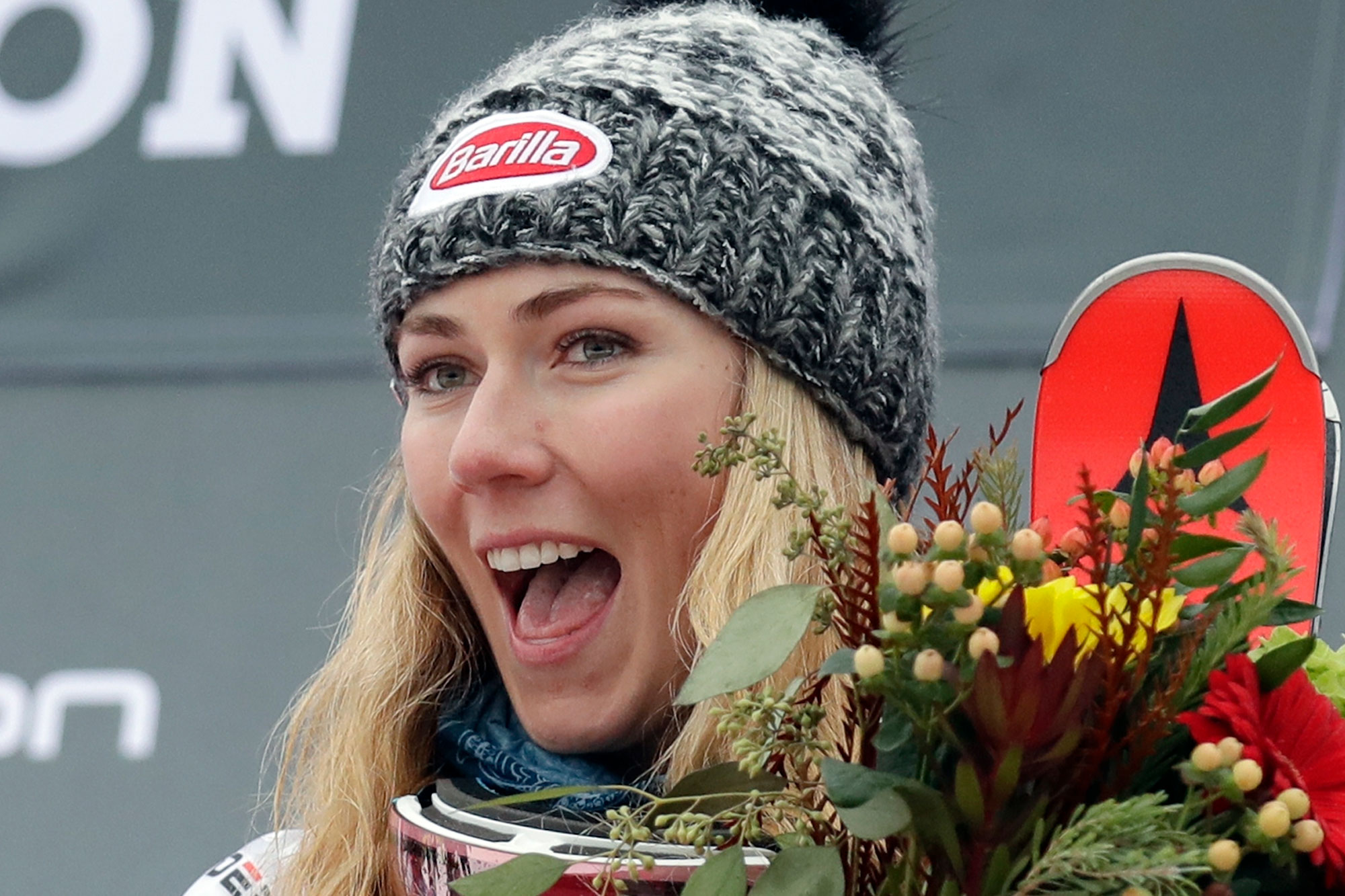 Photo: World Cup Slalom | Mikaela Shiffrin Killington 2018 - AP