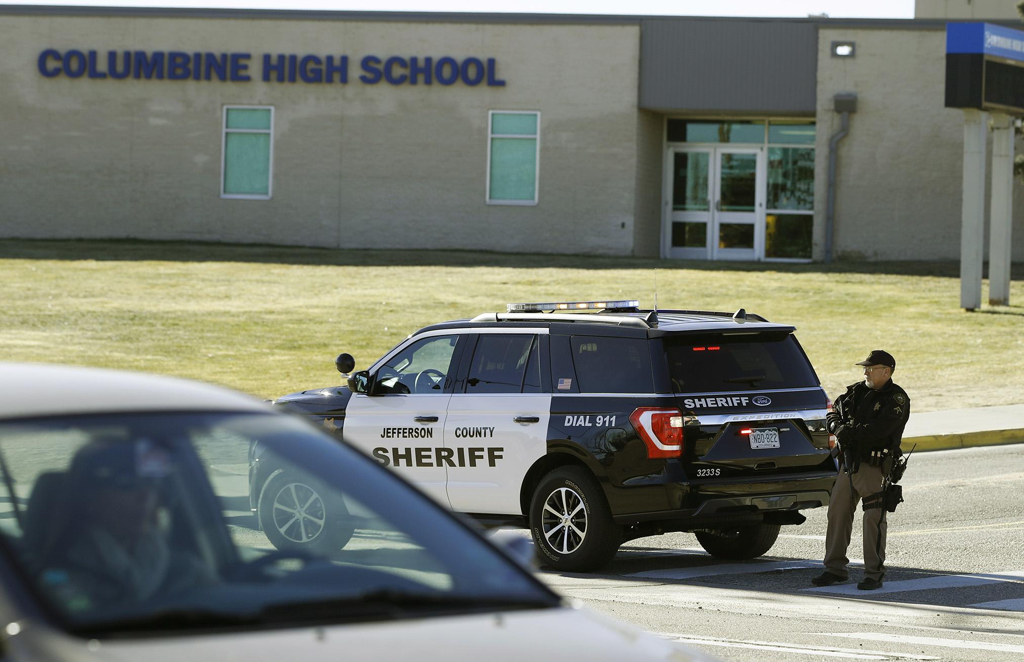 Photo: Columbine bomb hoax Dec. 2018 | AP