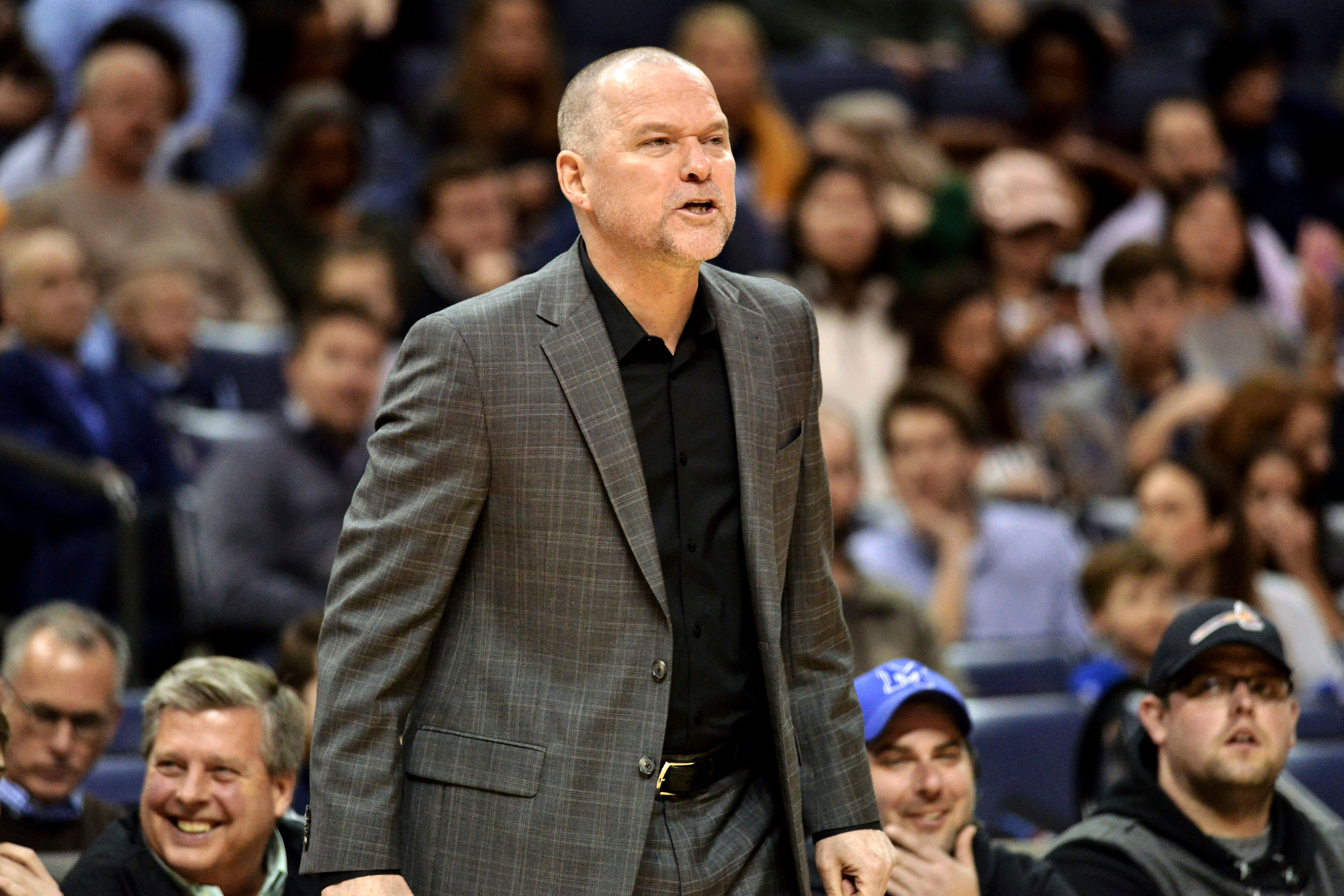 Photo: Nuggest HC All-Star | Michael Malone in Memphis - AP