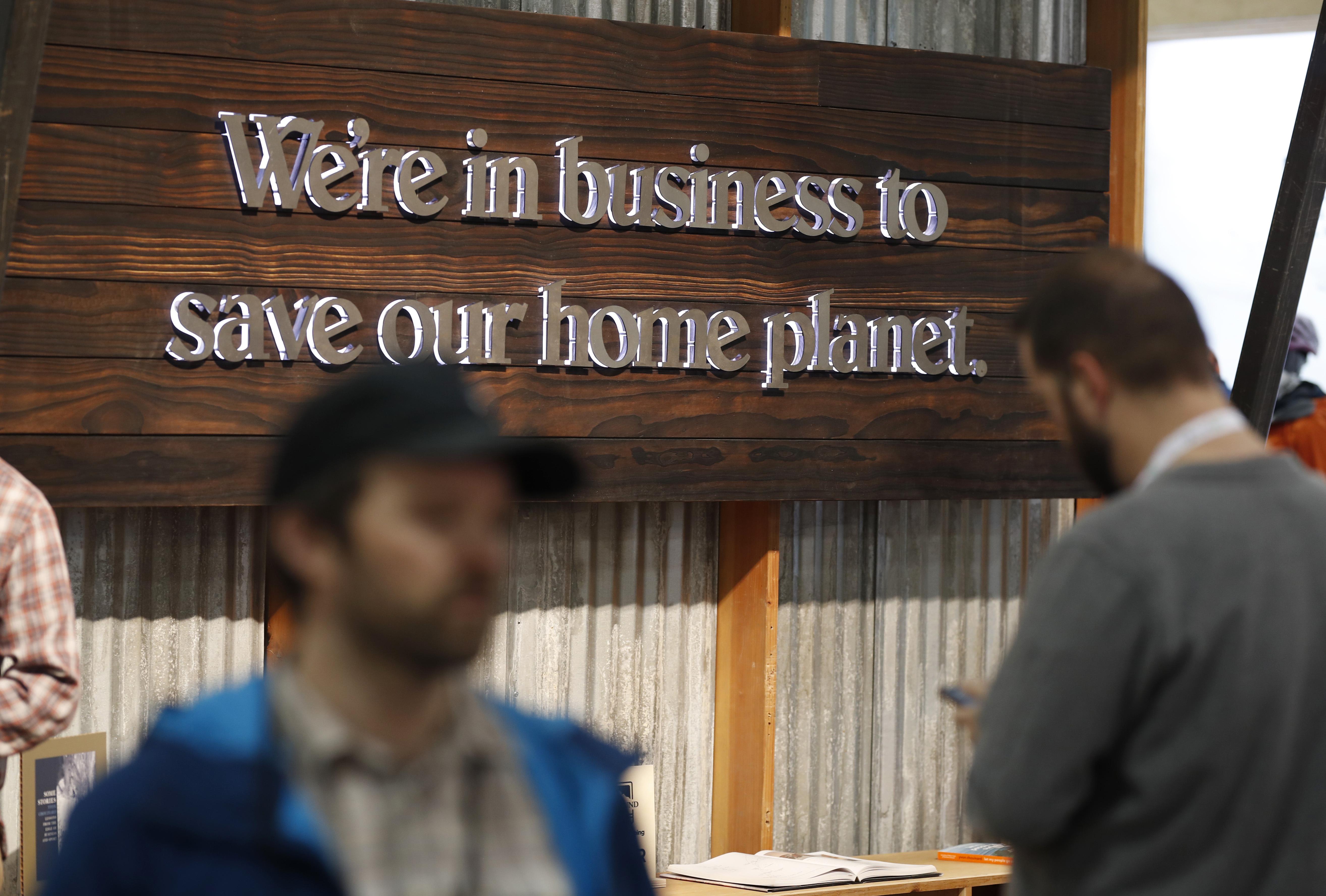 Photo: Outdoor Retailer | Earth Sign - AP