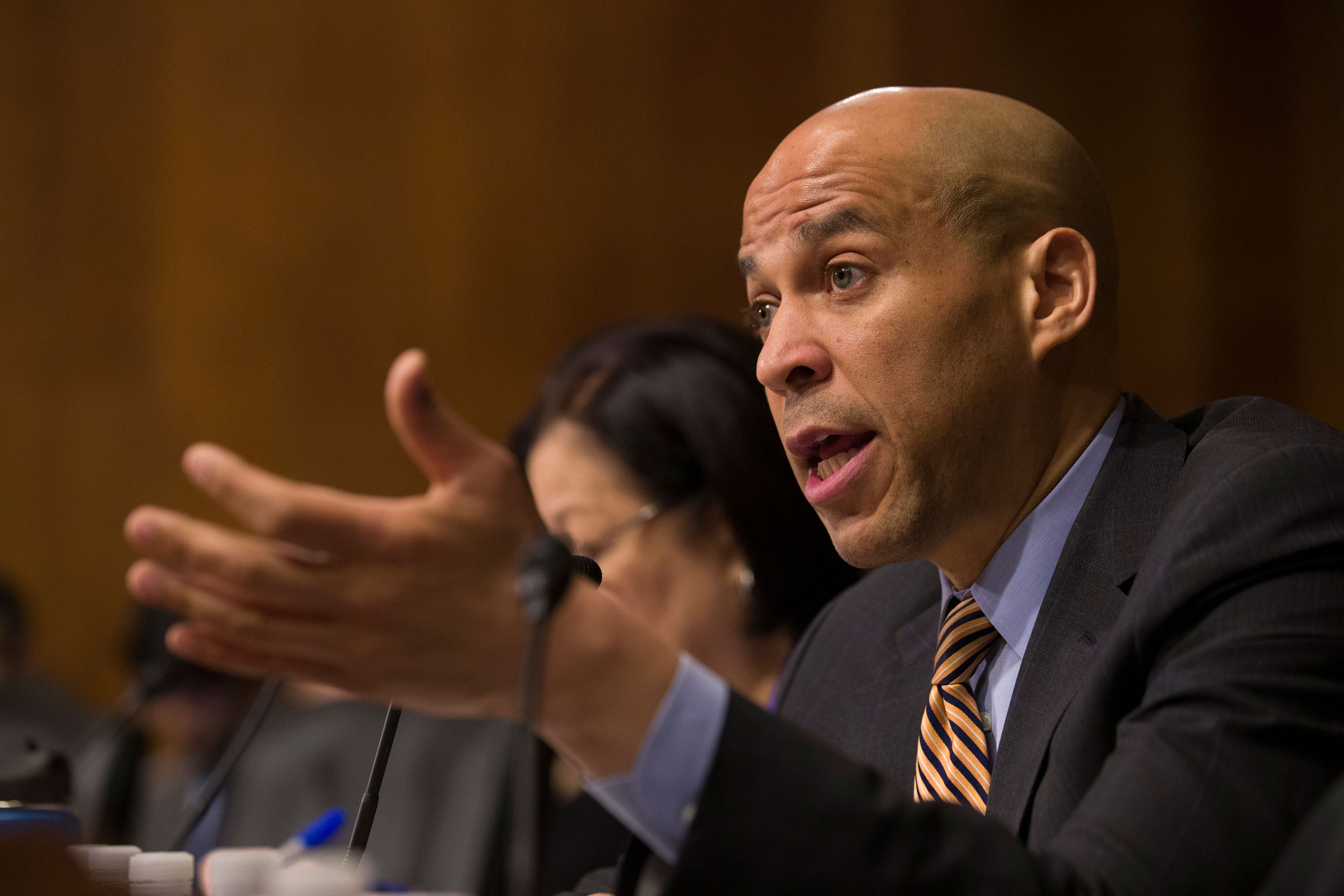Photo: 2020 Primary And Marijuana | Cory Booker - AP