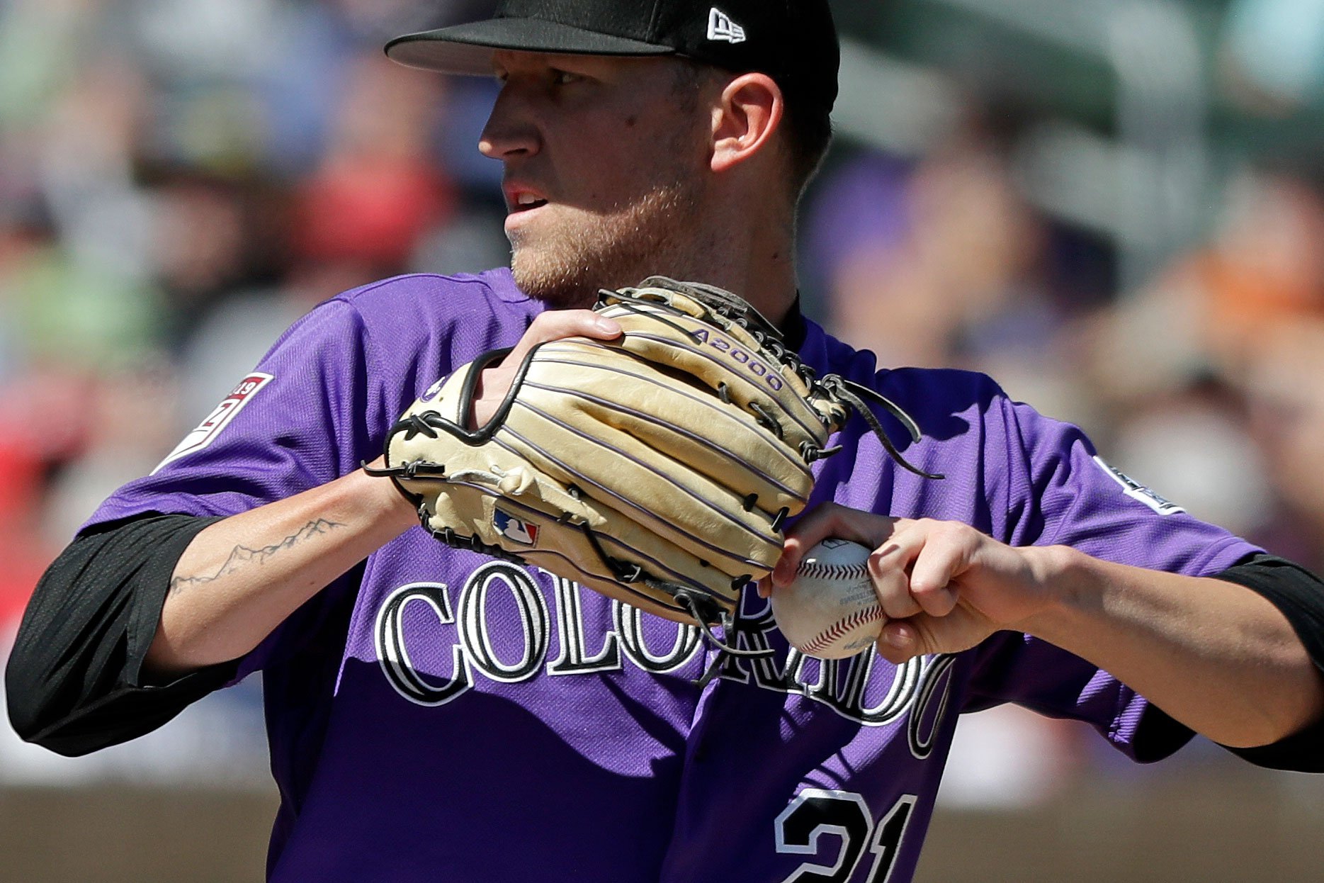 Photo: Kyle Freeland Rockies Spring Training 2019