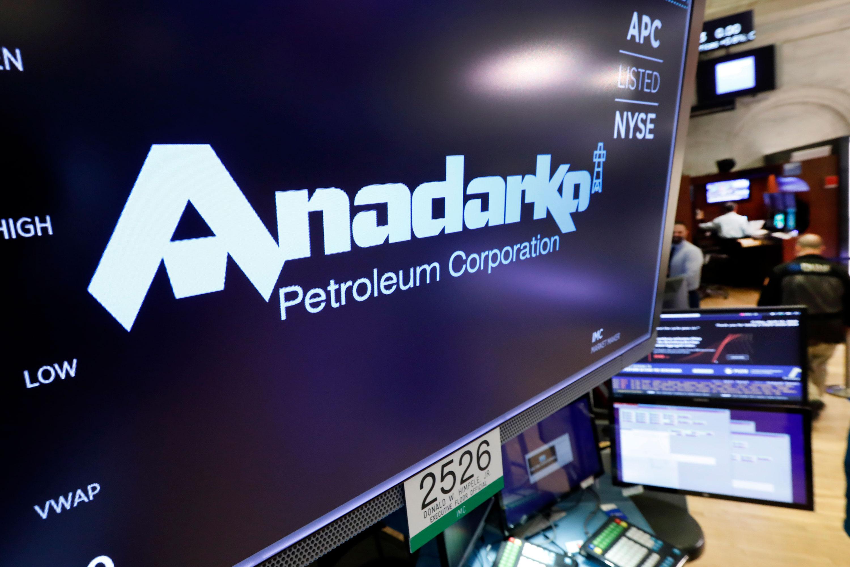 Photo: Anadarko Logo Stock Exchange AP 20190412