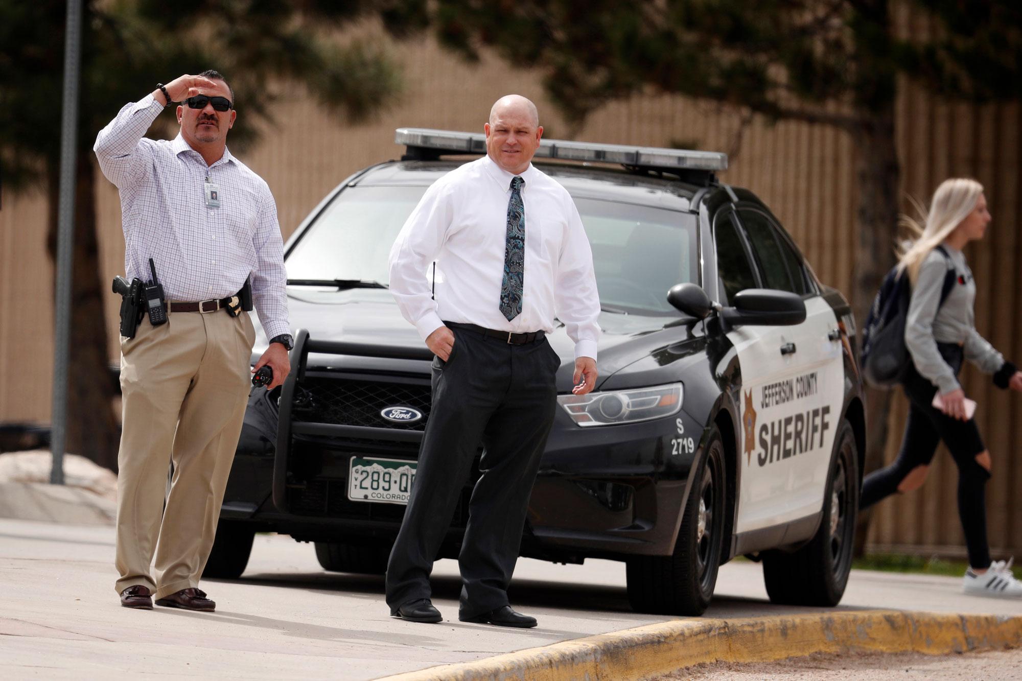 Photo: Columbine Lockouts April 16