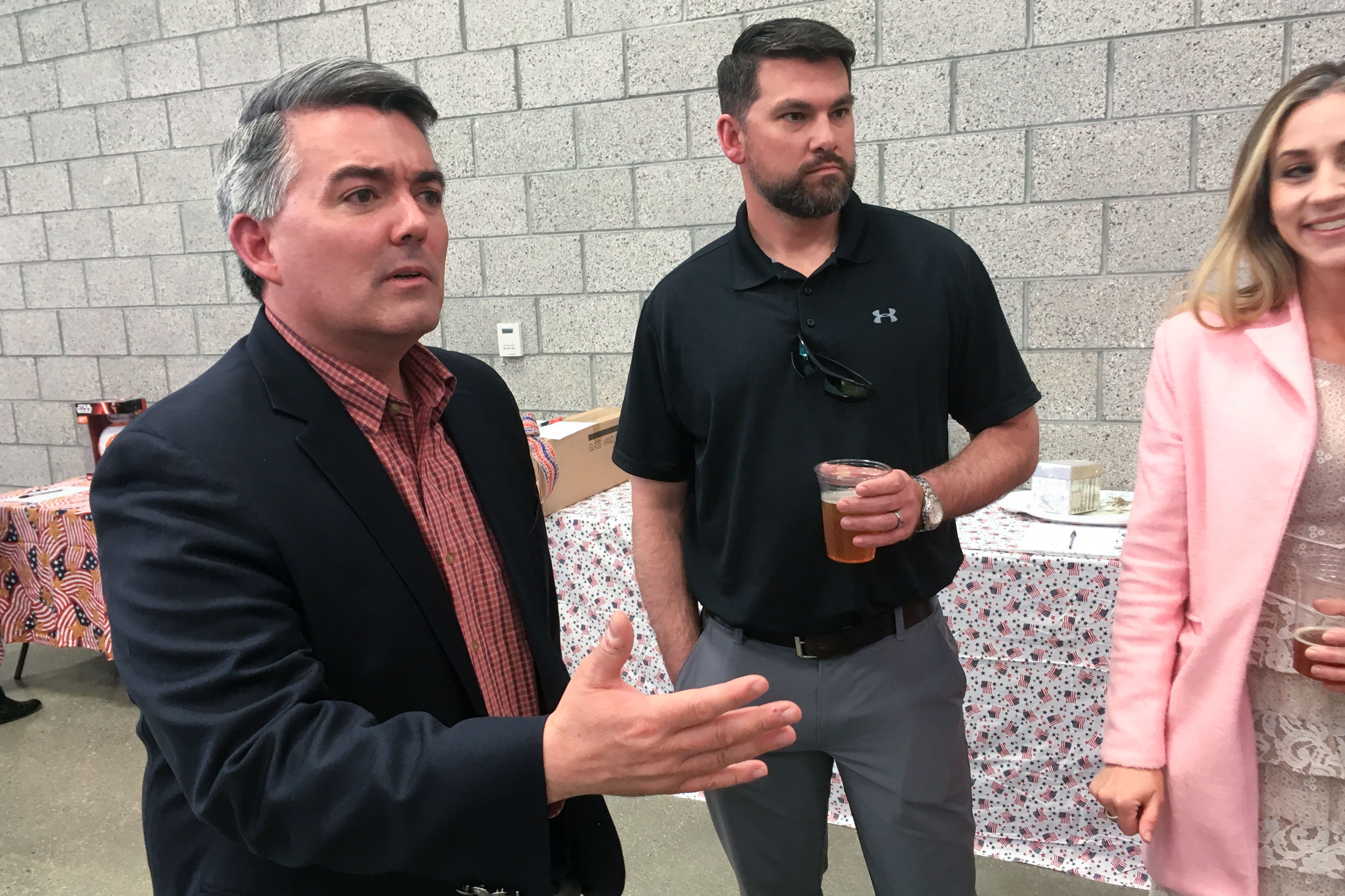 Photo: Election 2020 Campaigning | Cory Gardner Alamosa Lincoln Day Dinner - AP