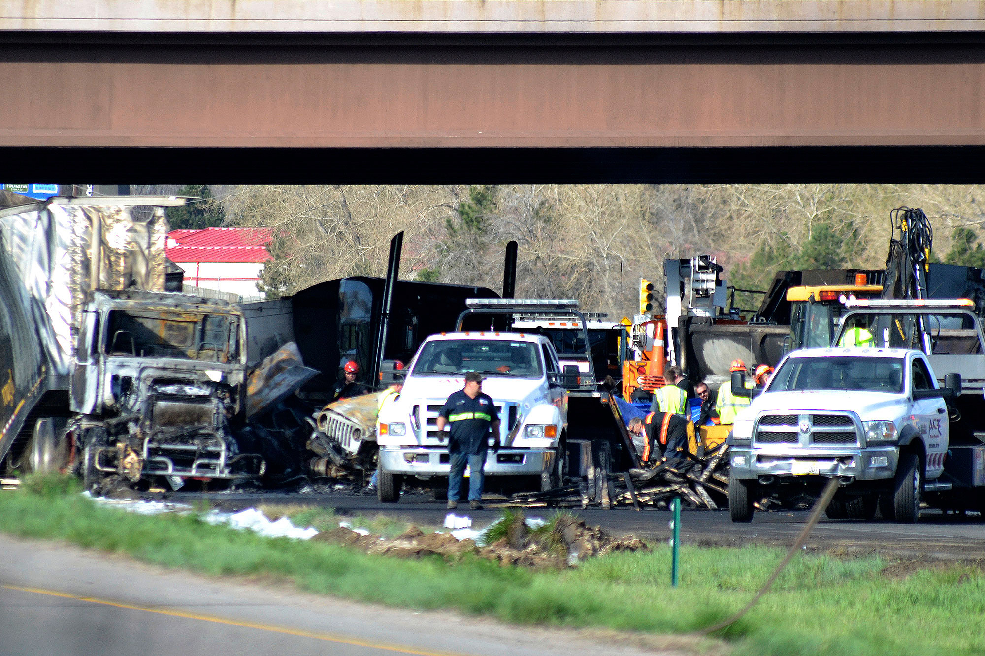 Photo: Wreckage 4 People Die In I-70 Crash Lakewood