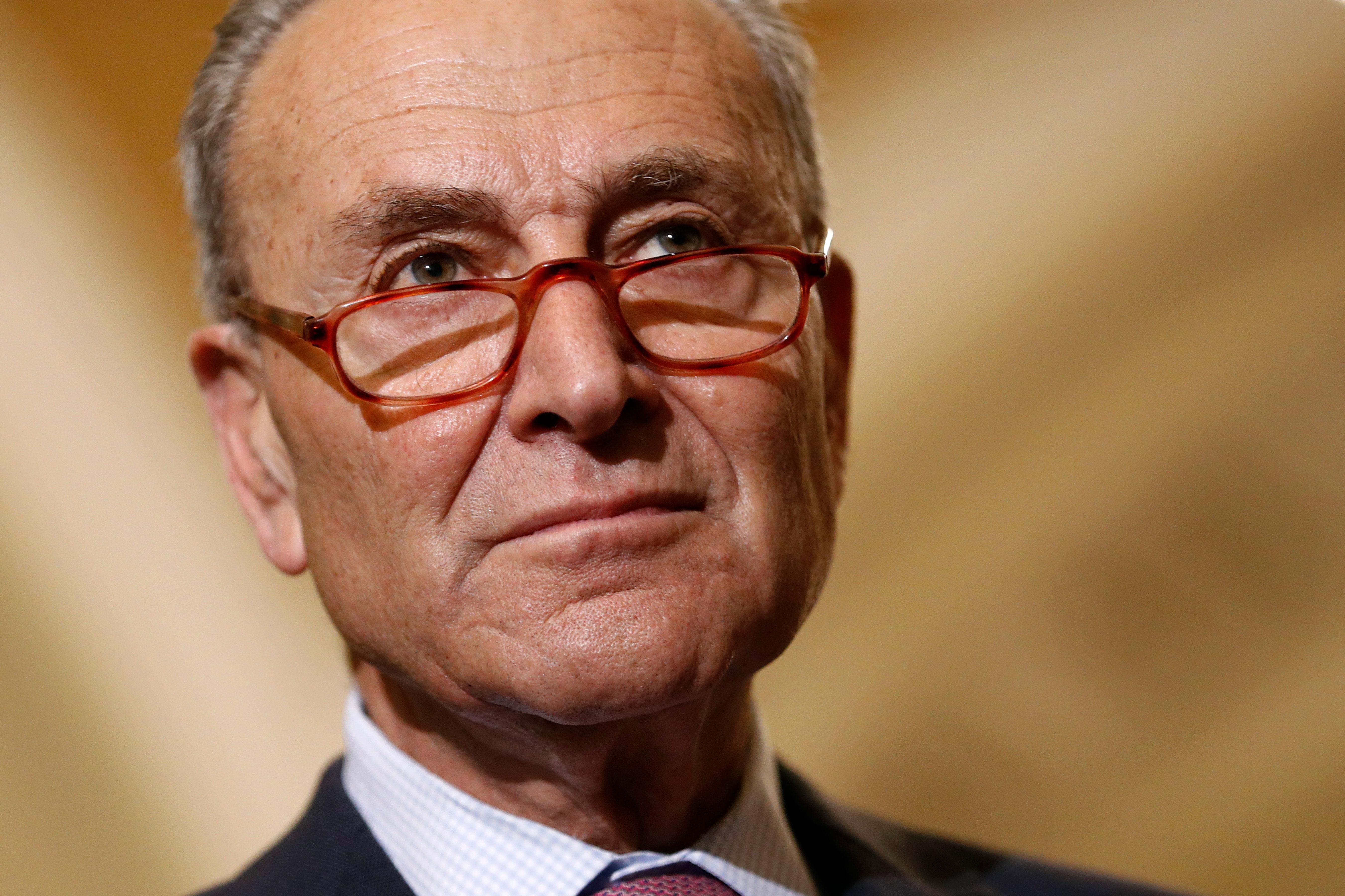 Photo: Senate Democrats | Chuck Schumer - AP