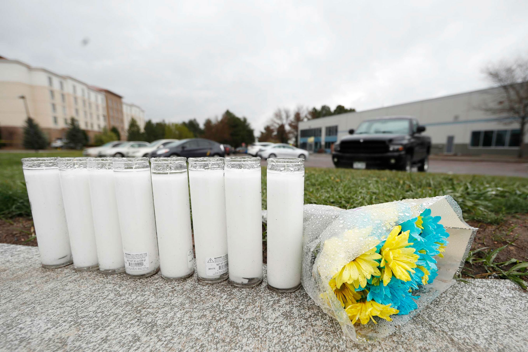 Photo: STEM Shooting 16 | Flowers Candles Memorial