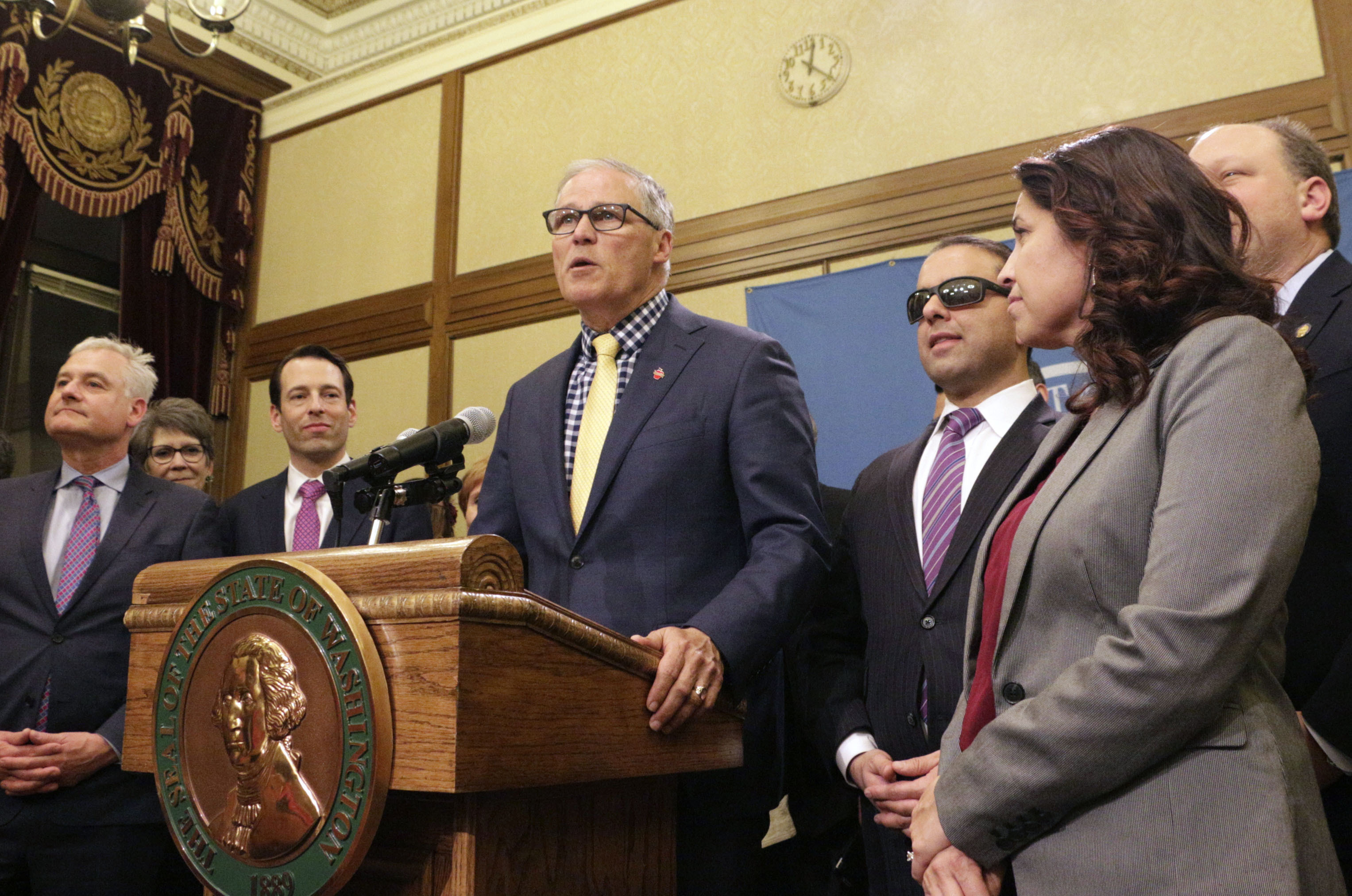 Photo: Washington Governor Jay Inslee - AP