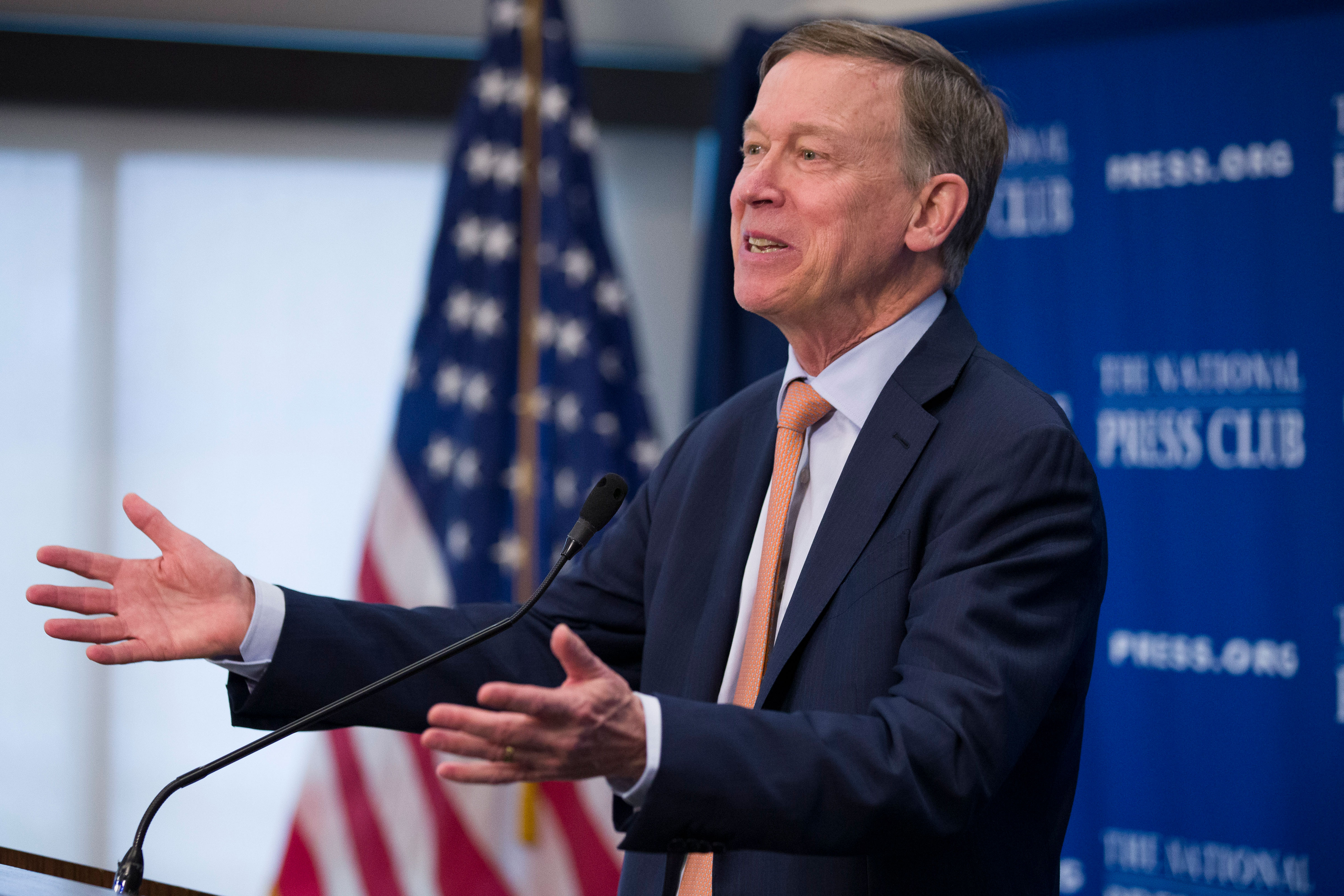 Photo: Election 2020 Governor Attention | Hickenlooper At National Press Club - AP