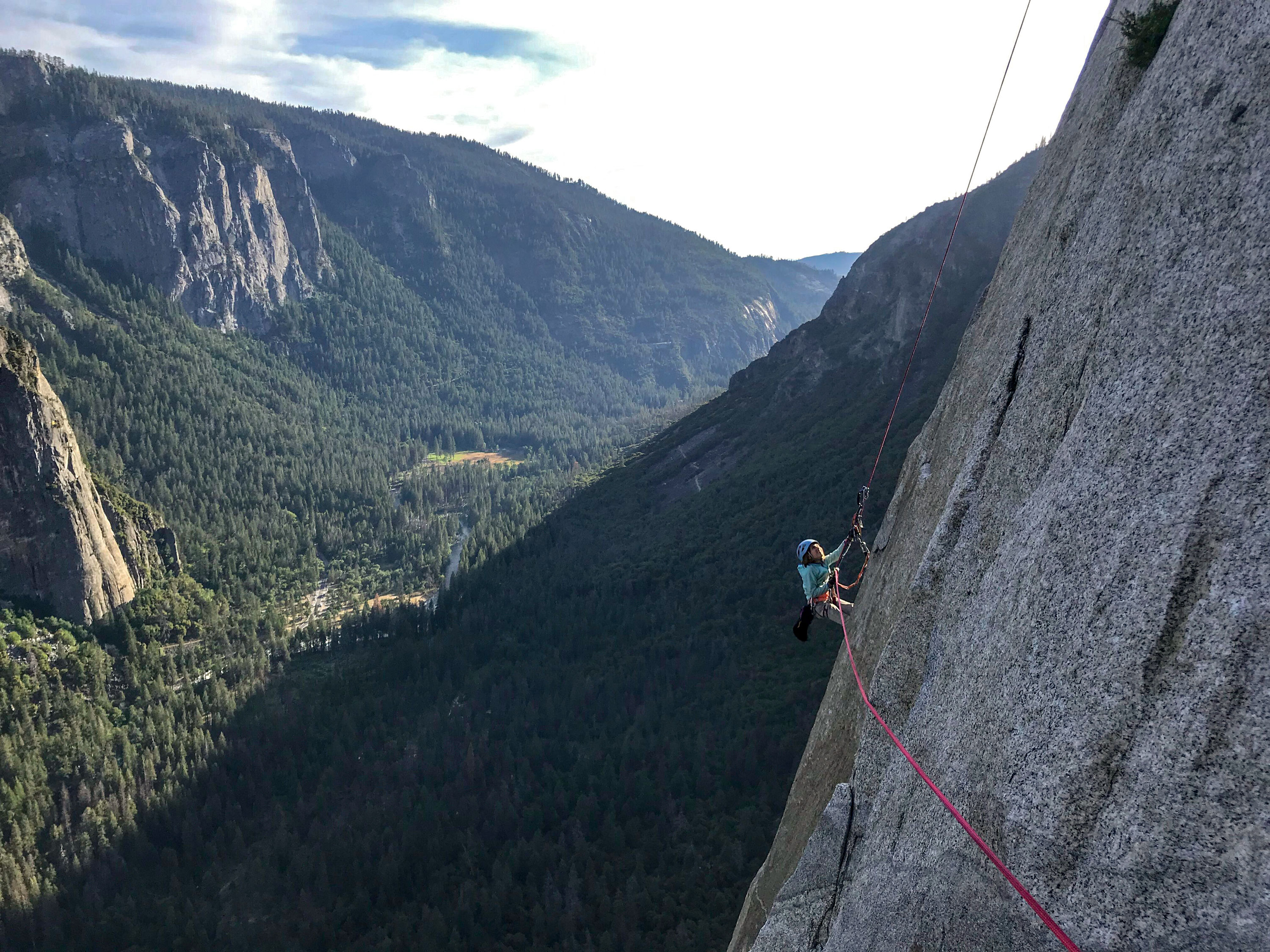 Photo: 10-yr-old Climbs El Capitan 2 | Selah On The Rockface - AP