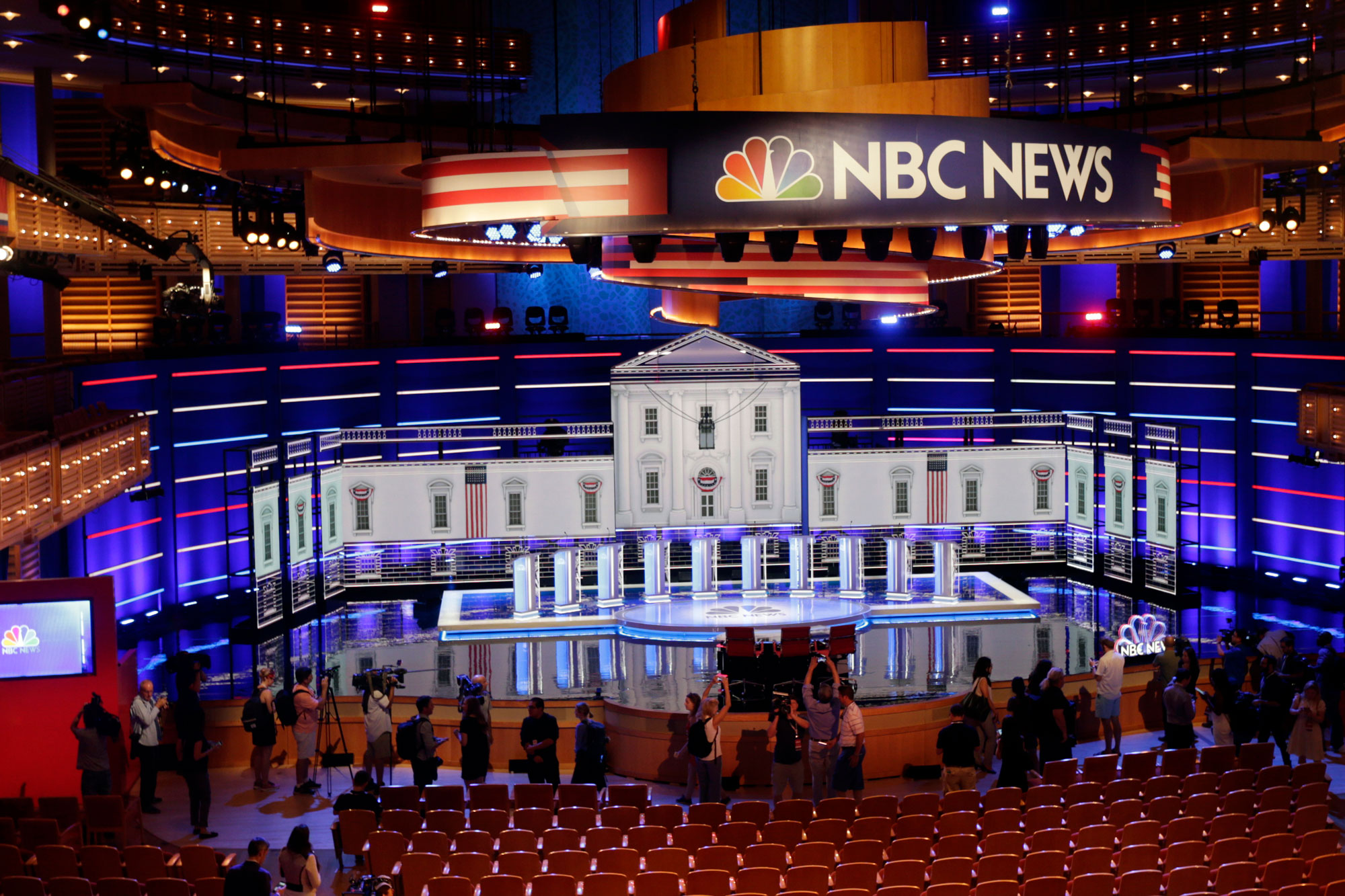 Photo: 2020 Democratic Presidential Primary Debate Stage