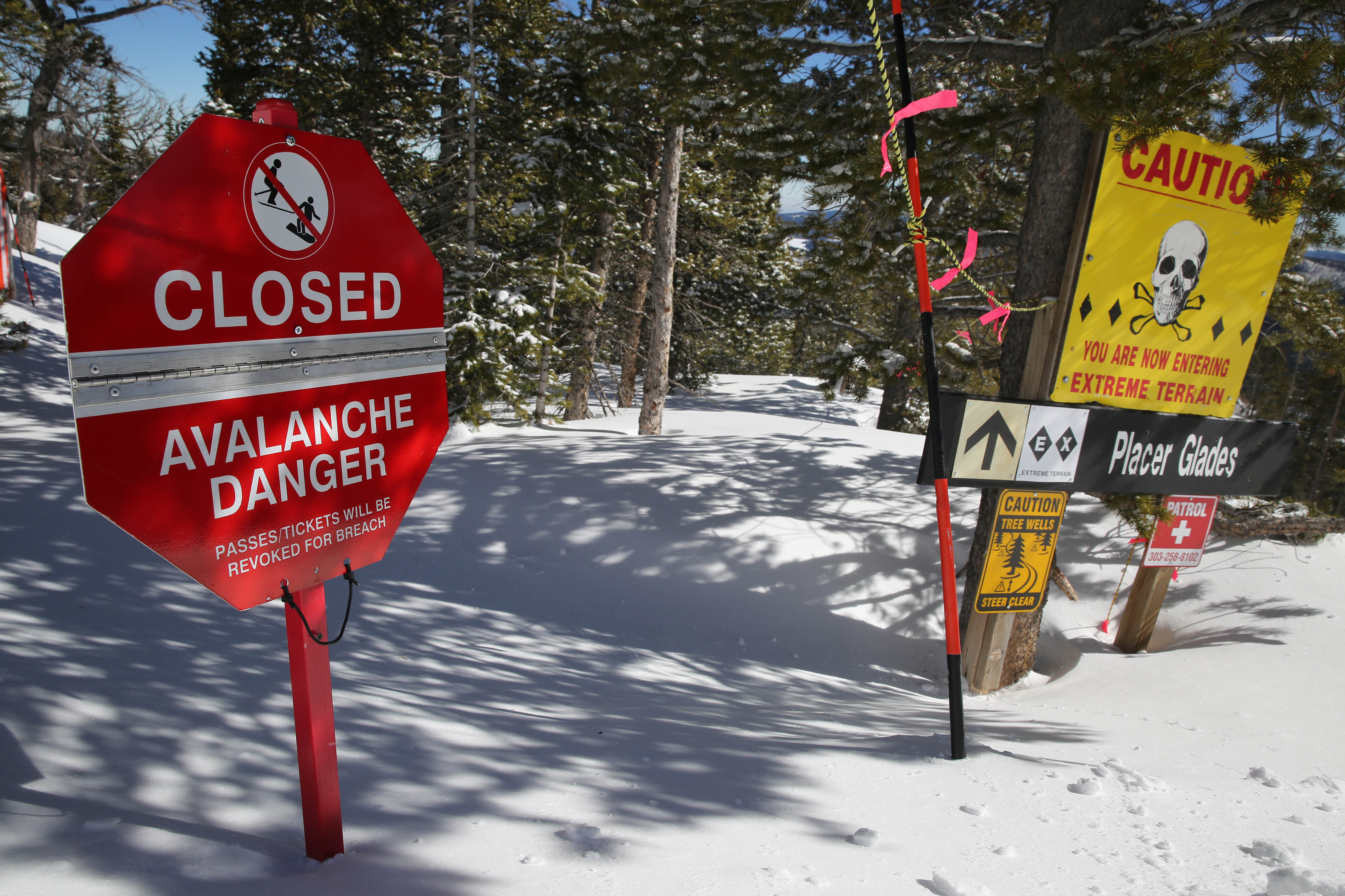 Photo: Avalanche | Eldora - AP