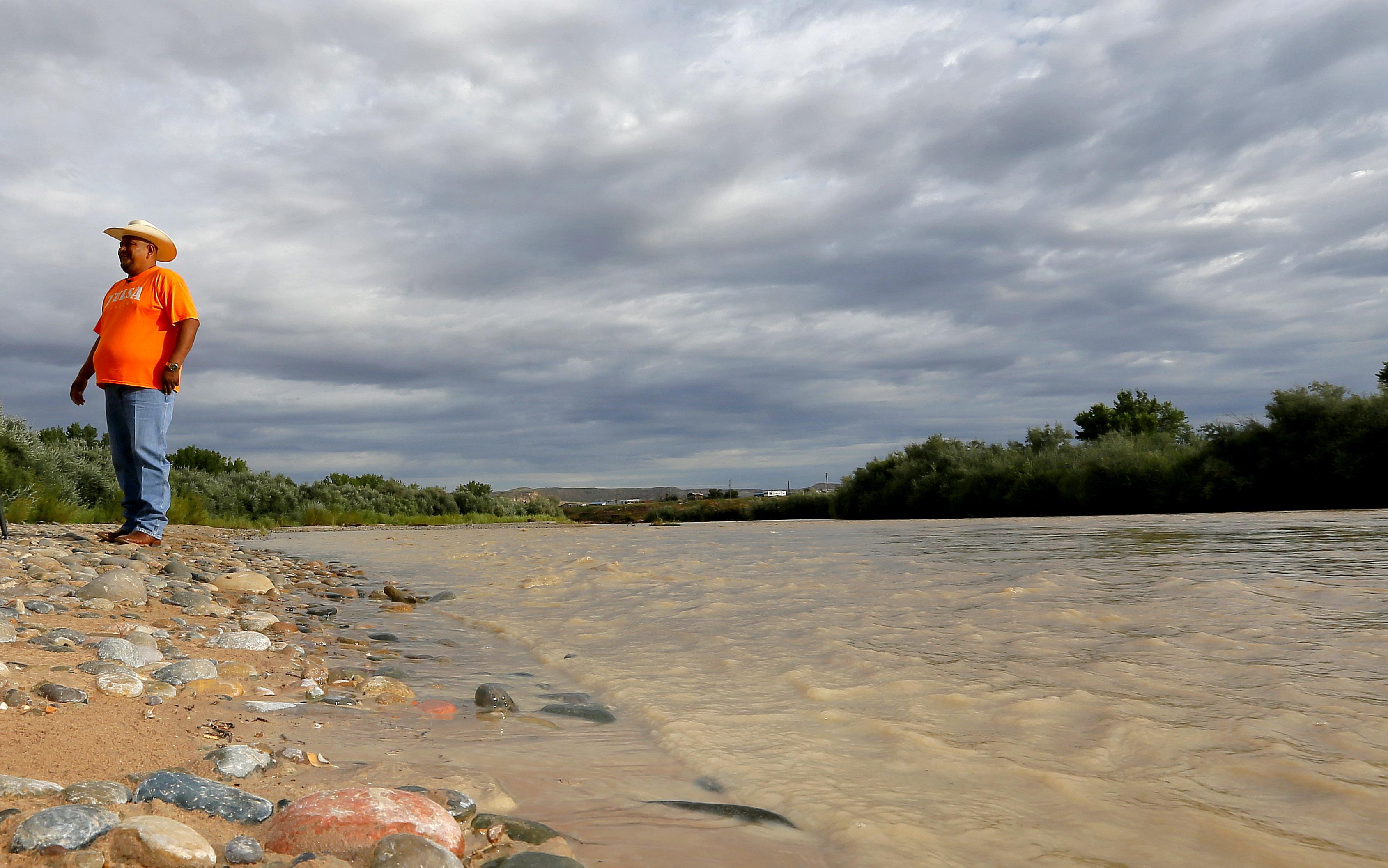 Photo: Navajo Nation San Juan River - AP